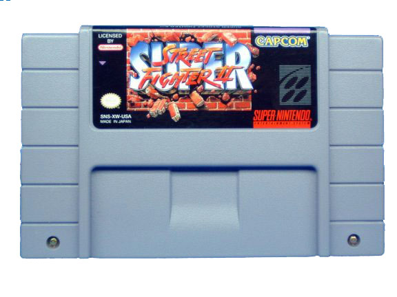 SNES Super Street Fighter II - 1994
