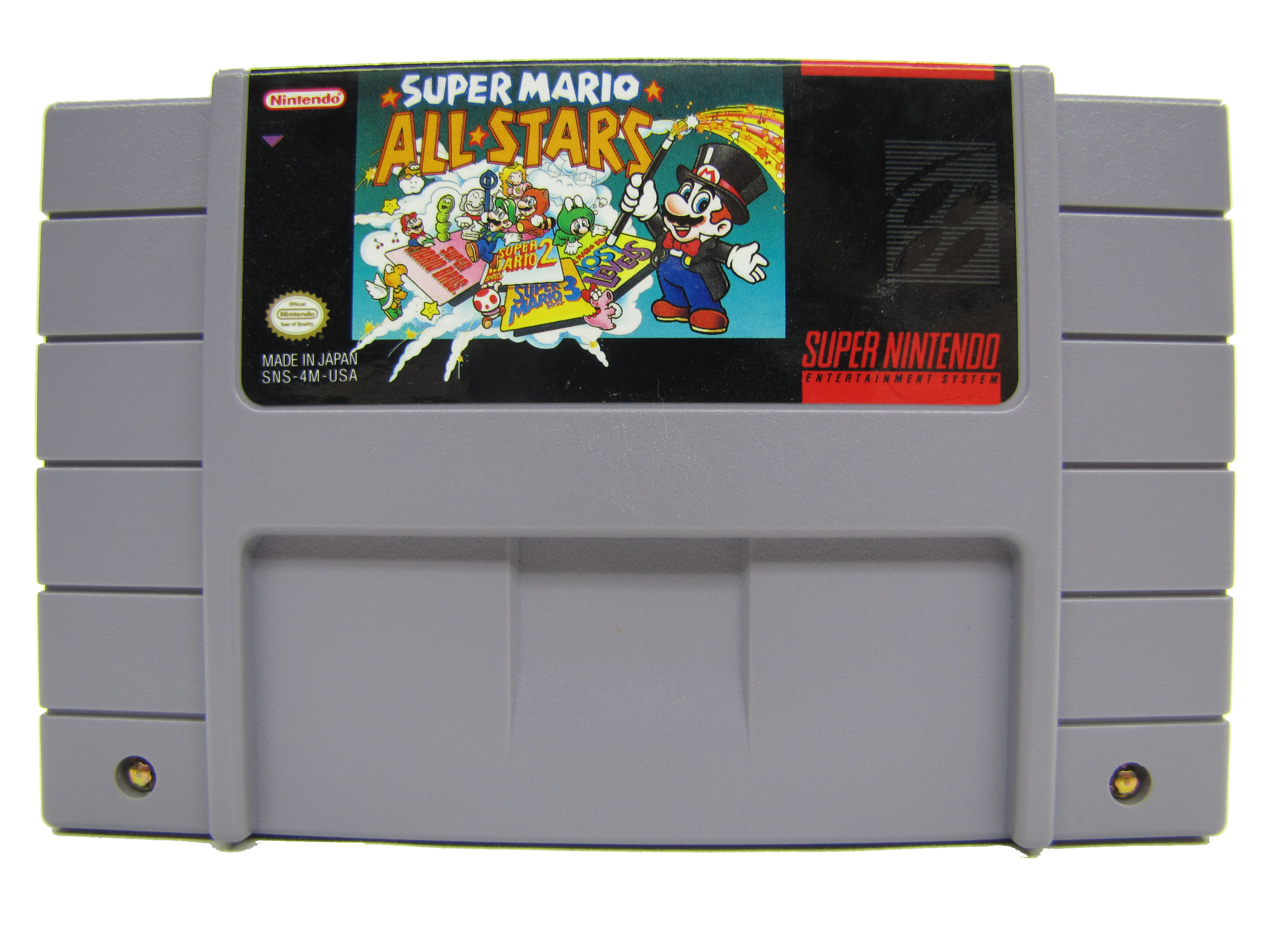 SNES Super Mario All-Stars - 1993