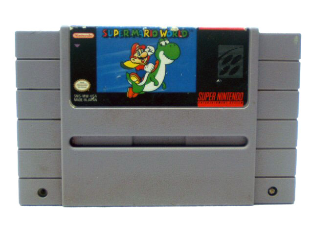 SNES Super Mario World - 1991