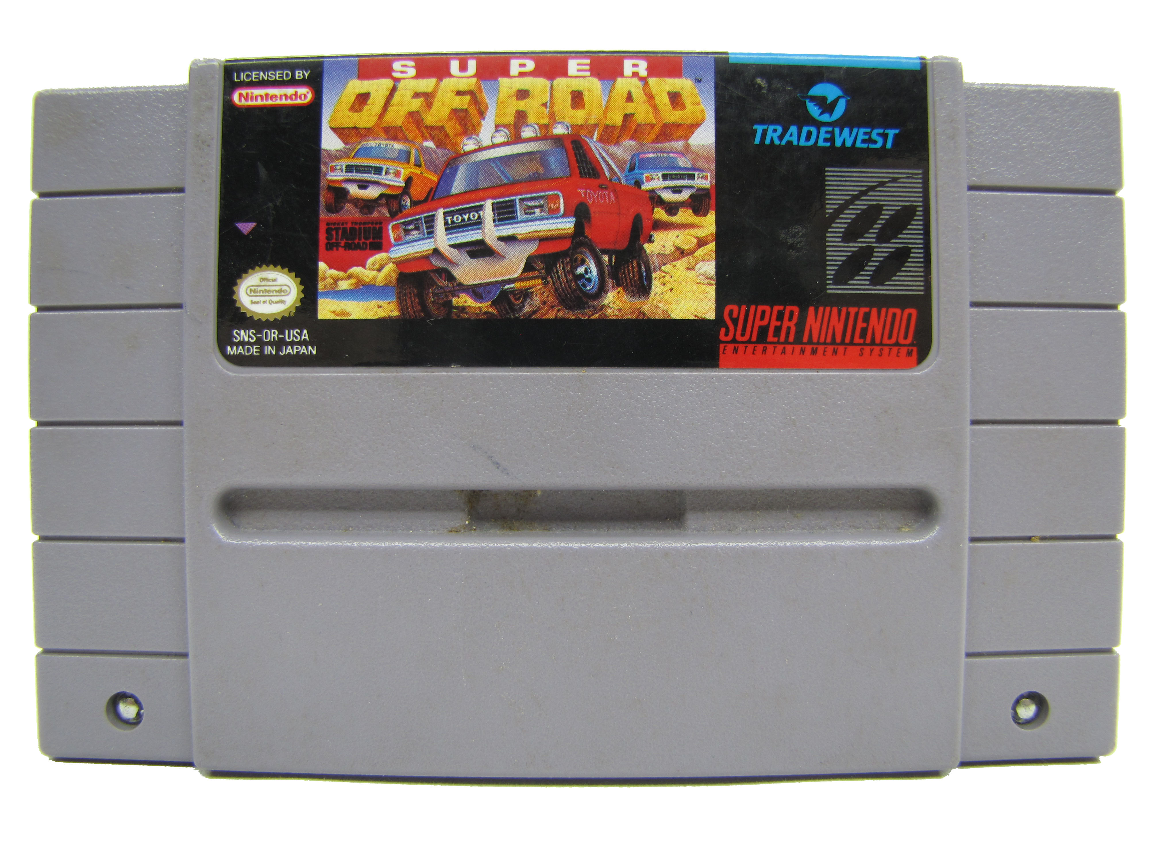 SNES Super Off Road - 1992