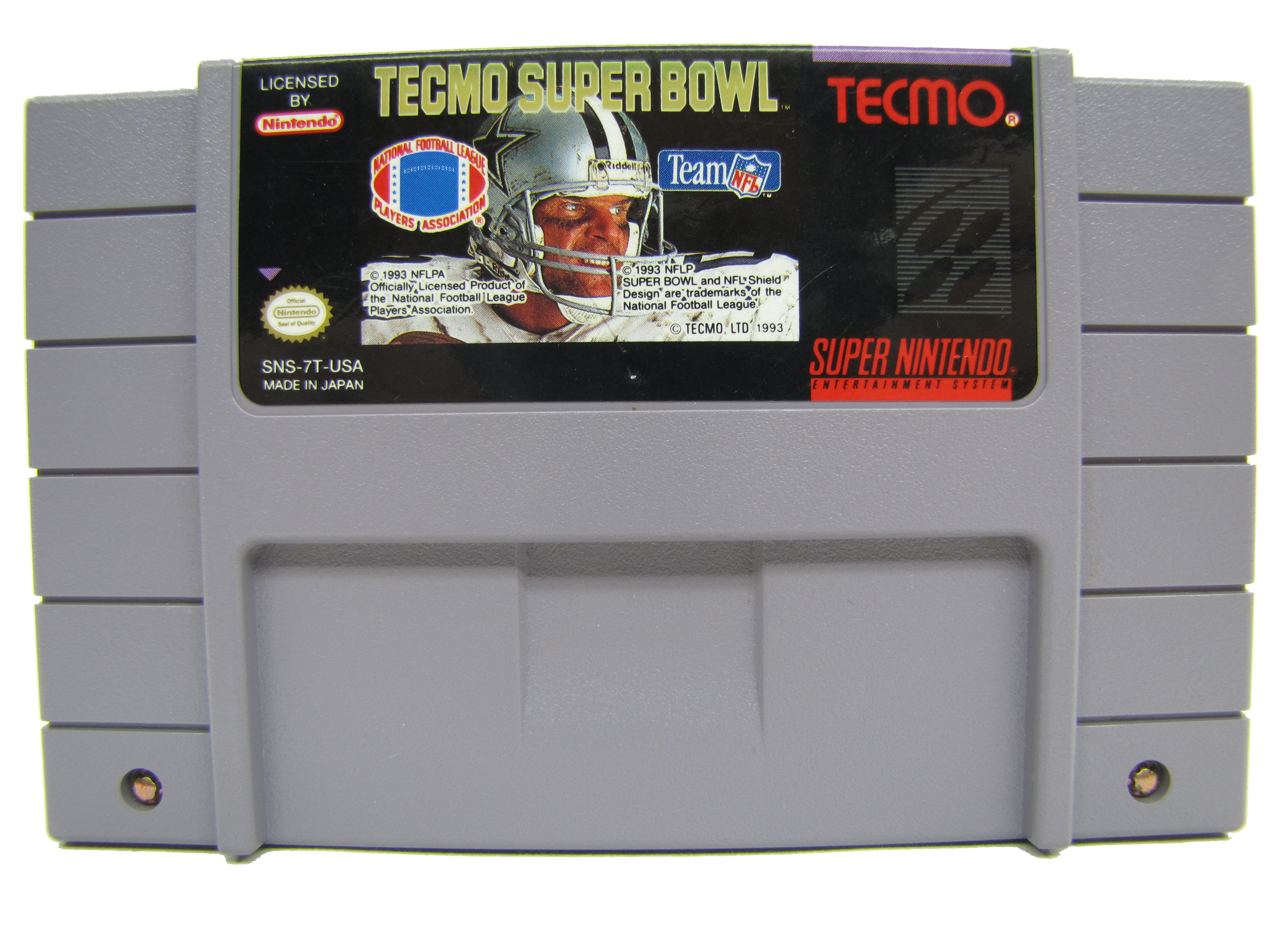 SNES Tecmo Super Bowl - 1993