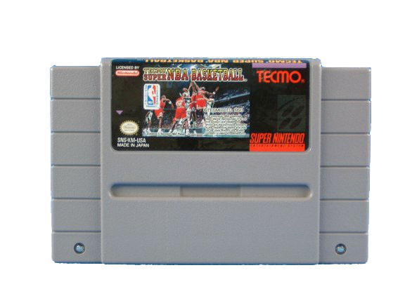 SNES Tecmo Super NBA Basketball - 1993
