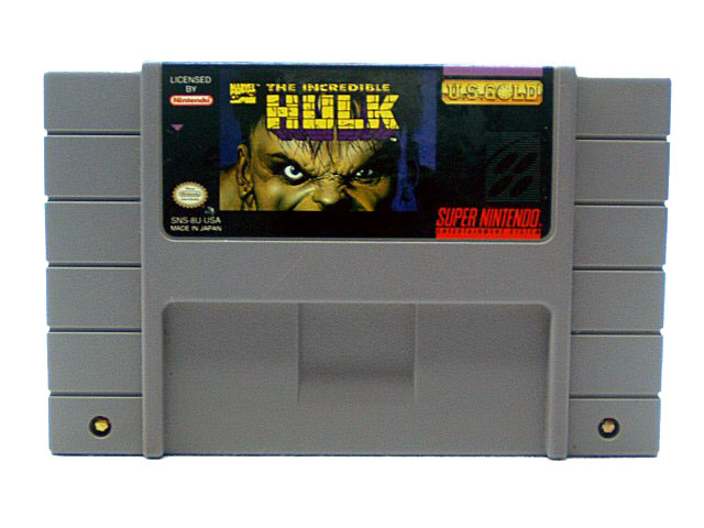 SNES The Incredible Hulk - 1994