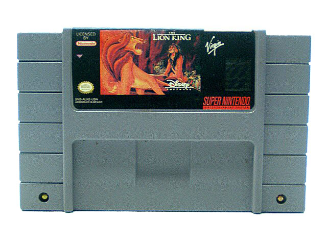 SNES The Lion King - 1994
