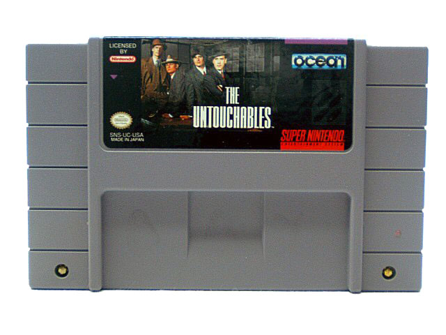 SNES The Untouchables - 1994