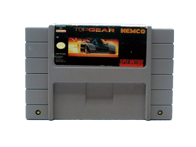 SNES Top Gear - 1993