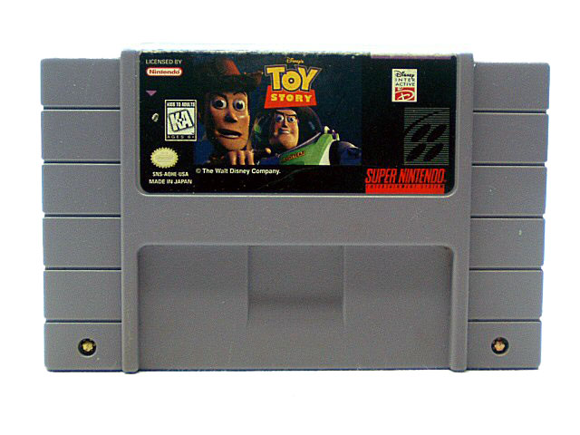 SNES Toy Story - 1995