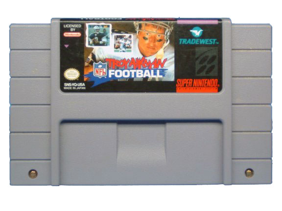 SNES Troy Aikman Football - 1995