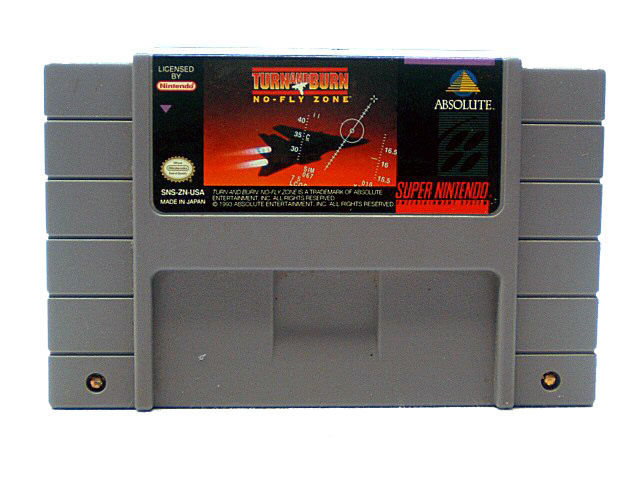 SNES Turn and Burn: No-Fly Zone - 1992