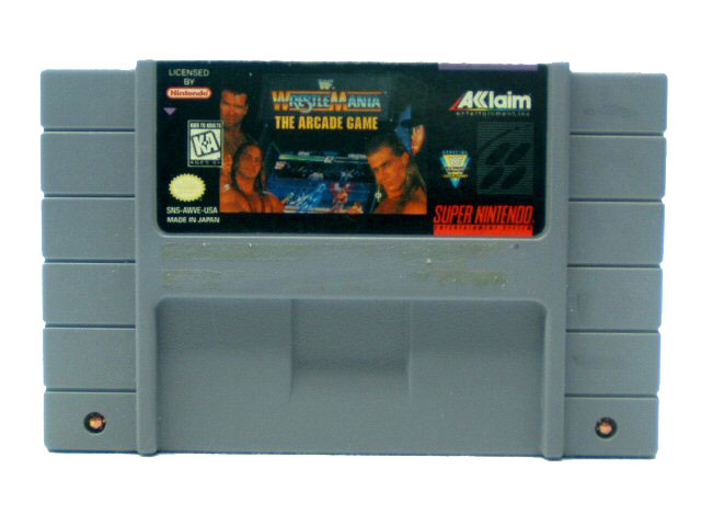 SNES WWF WrestleMania: The Arcade Game - 1995