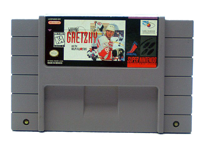 SNES Wayne Gretzky and the NHLPA All Stars - 1995