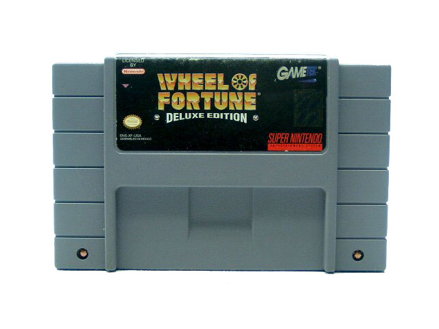 SNES Wheel of Fortune: Deluxe Edition - 1993