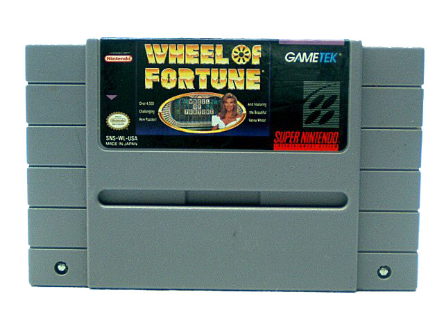 SNES Wheel of Fortune - 1992
