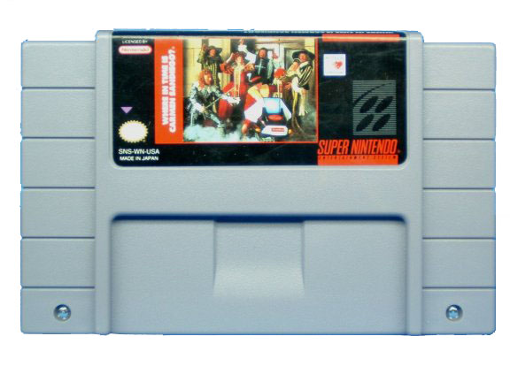 SNES Where In Time Is Carmen San Diego - 1993