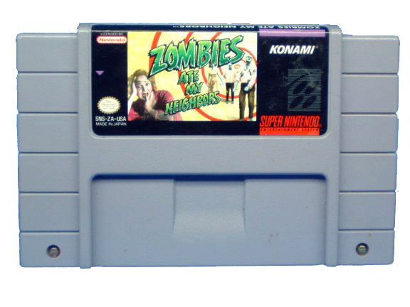 SNES Zombies Ate My Neighbors - 1993