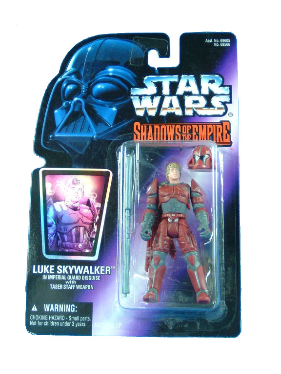 1996 Star Wars Shadows of the Empire LUKE SKYWALKER in DESGUISE