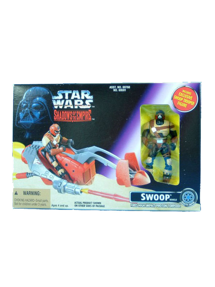1996 Star Wars Shadows of the Empire SWOOP in Sealed Box