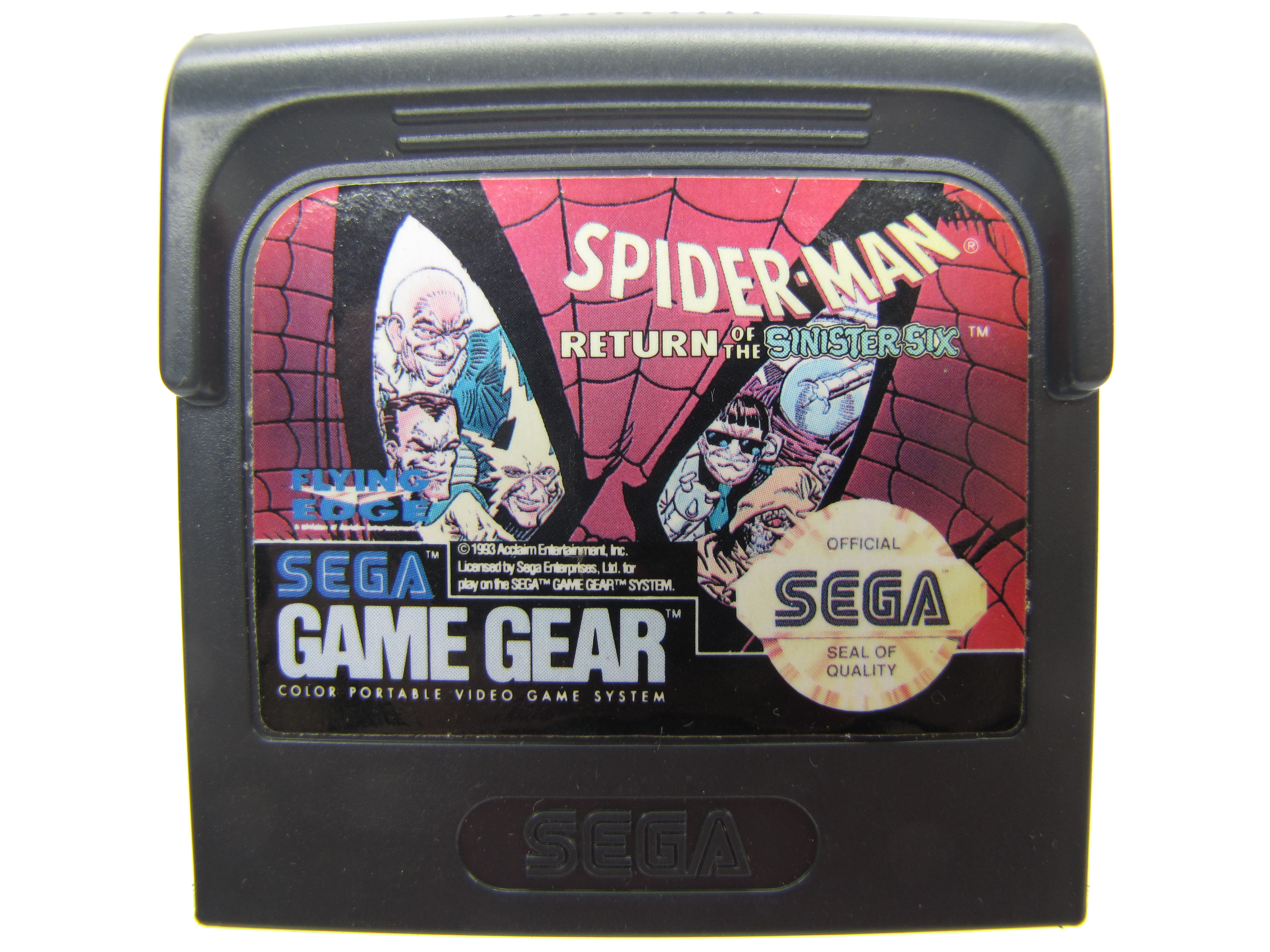 Sega Game Gear Spider-Man: Return of the Sinister Six - 1993