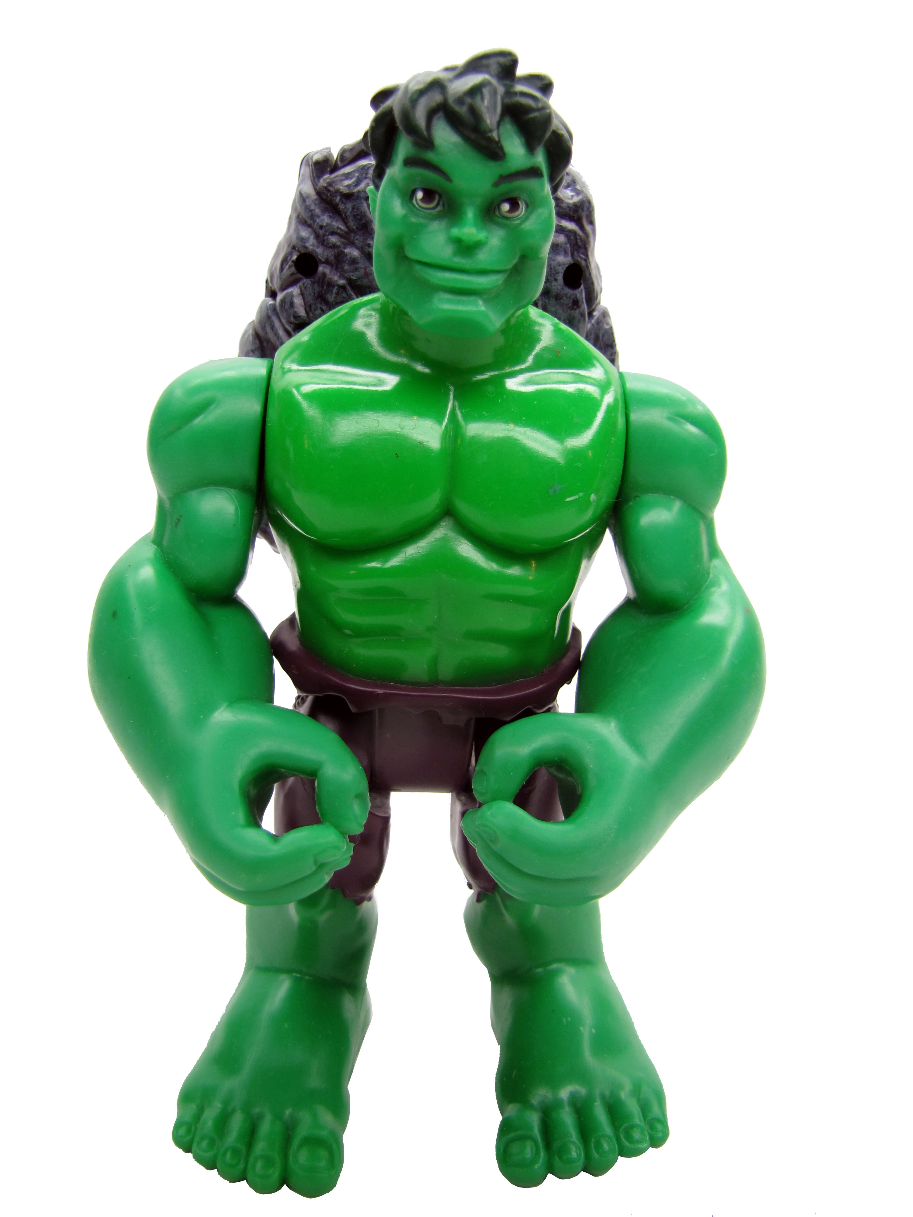 Spider-Man & Friends Super Heroes Super Strength Hulk Complete