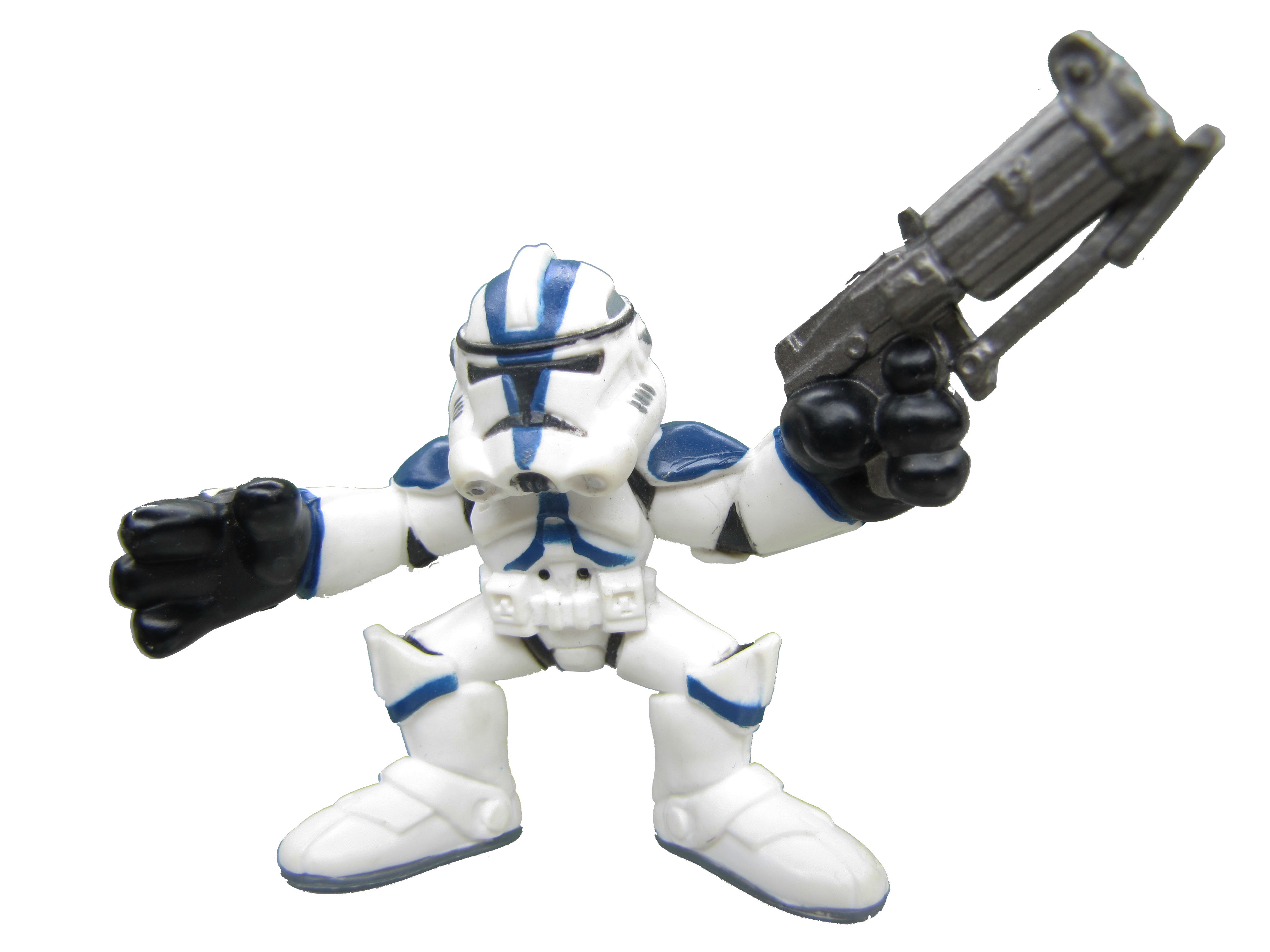 Star Wars Galactic Heroes 501st Legion Clone Trooper Complete My Generation Toys