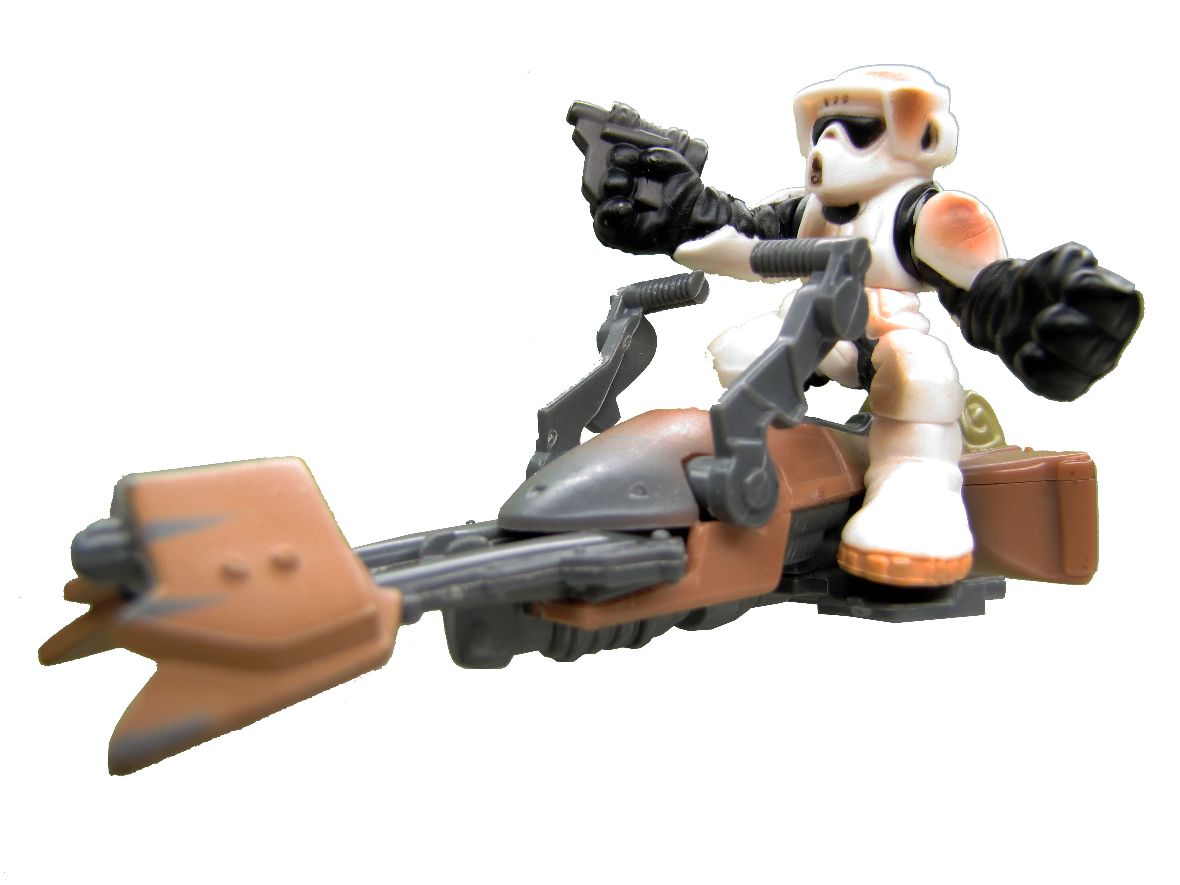 Star Wars Galactic Heroes Biker Scout on Speeder Bike Complete