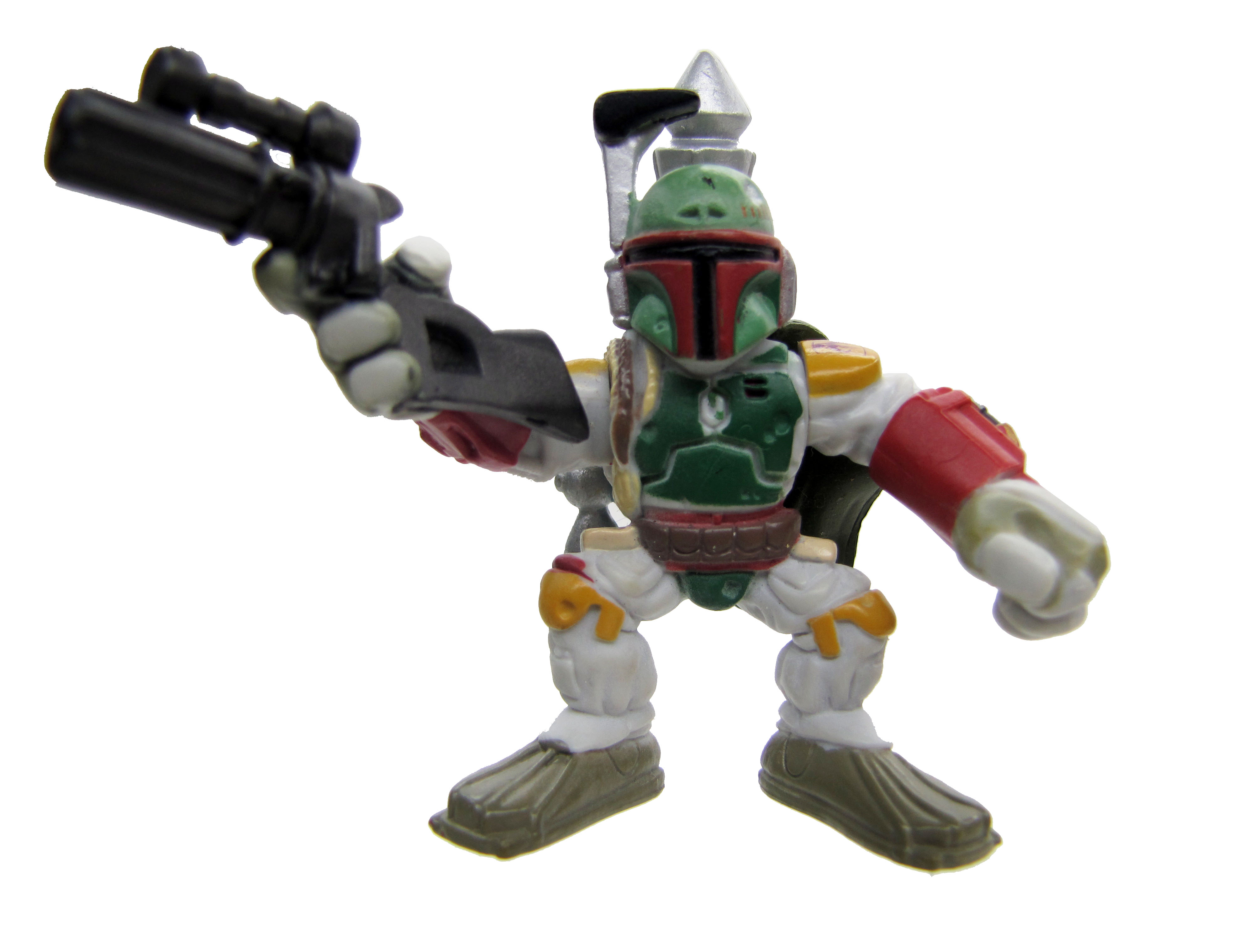 Star Wars Galactic Heroes BOBA FETT Complete