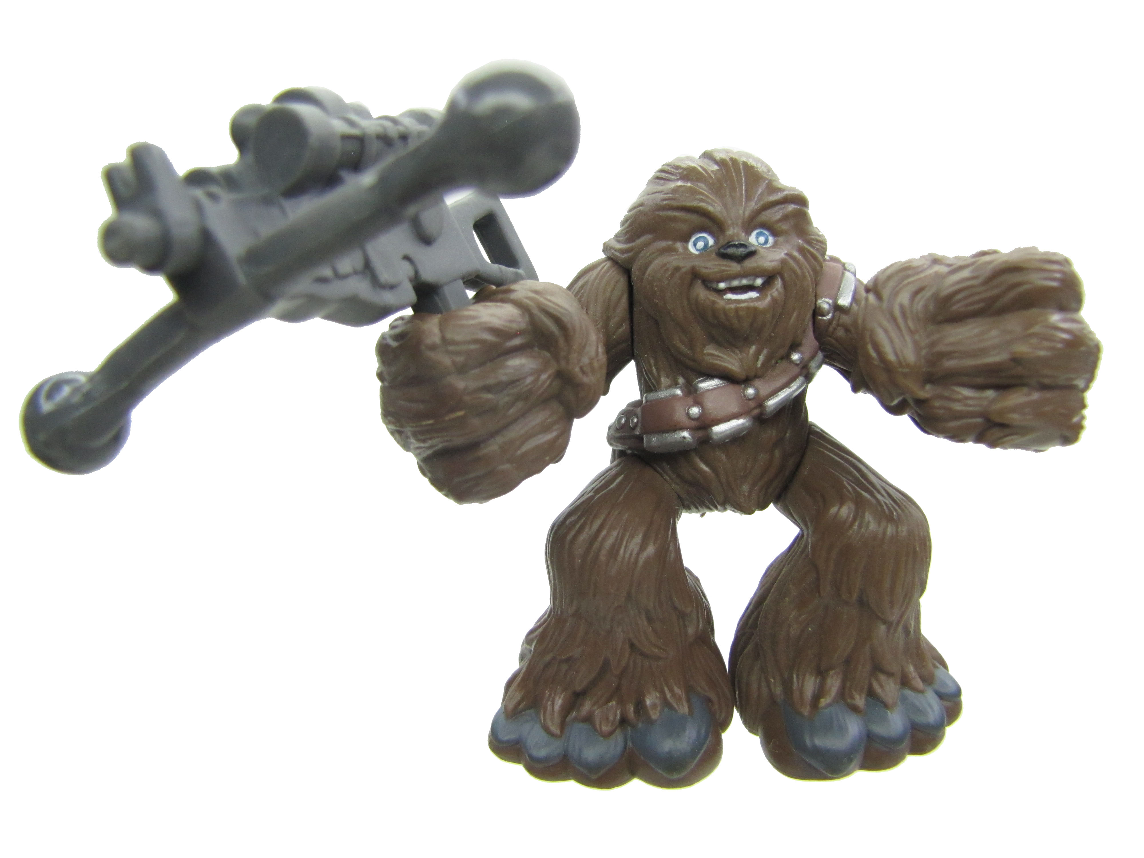 Star Wars Galactic Heroes CHEWBACCA with BOWCASTER Complete