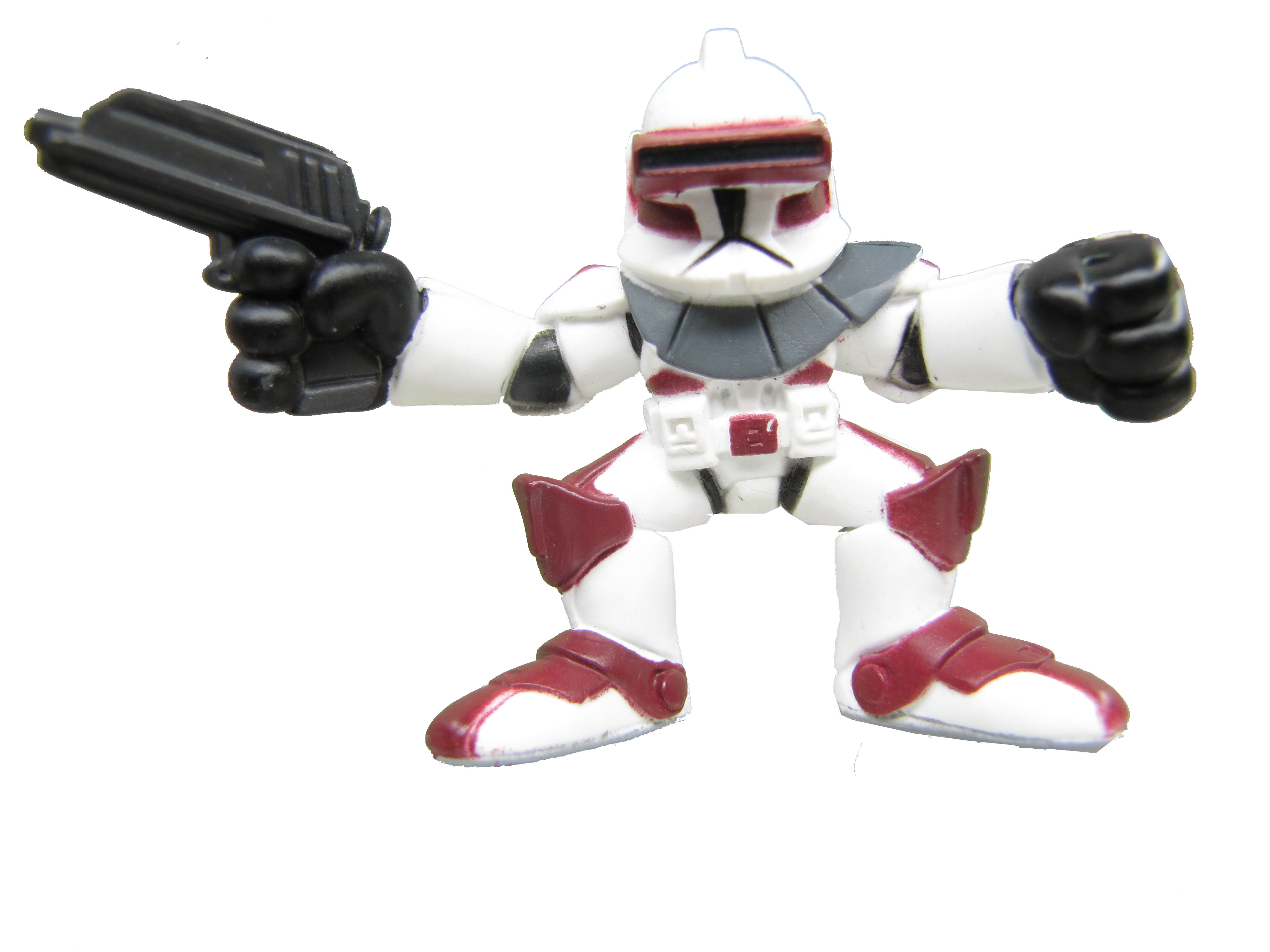 Star Wars Galactic Heroes Clone Commander Thire Clone Wars
