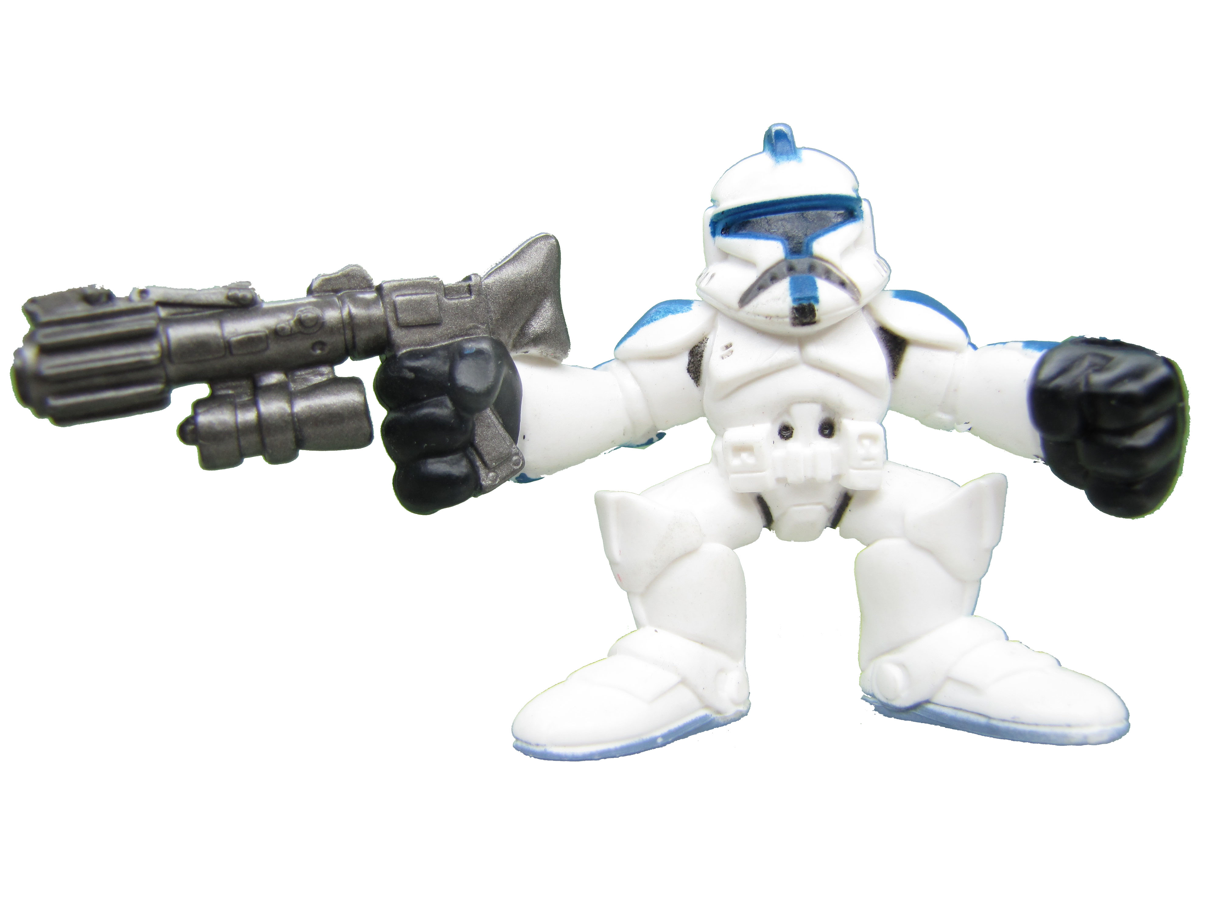 Star Wars Galactic Heroes Clone Trooper Blue Clone Wars Complete