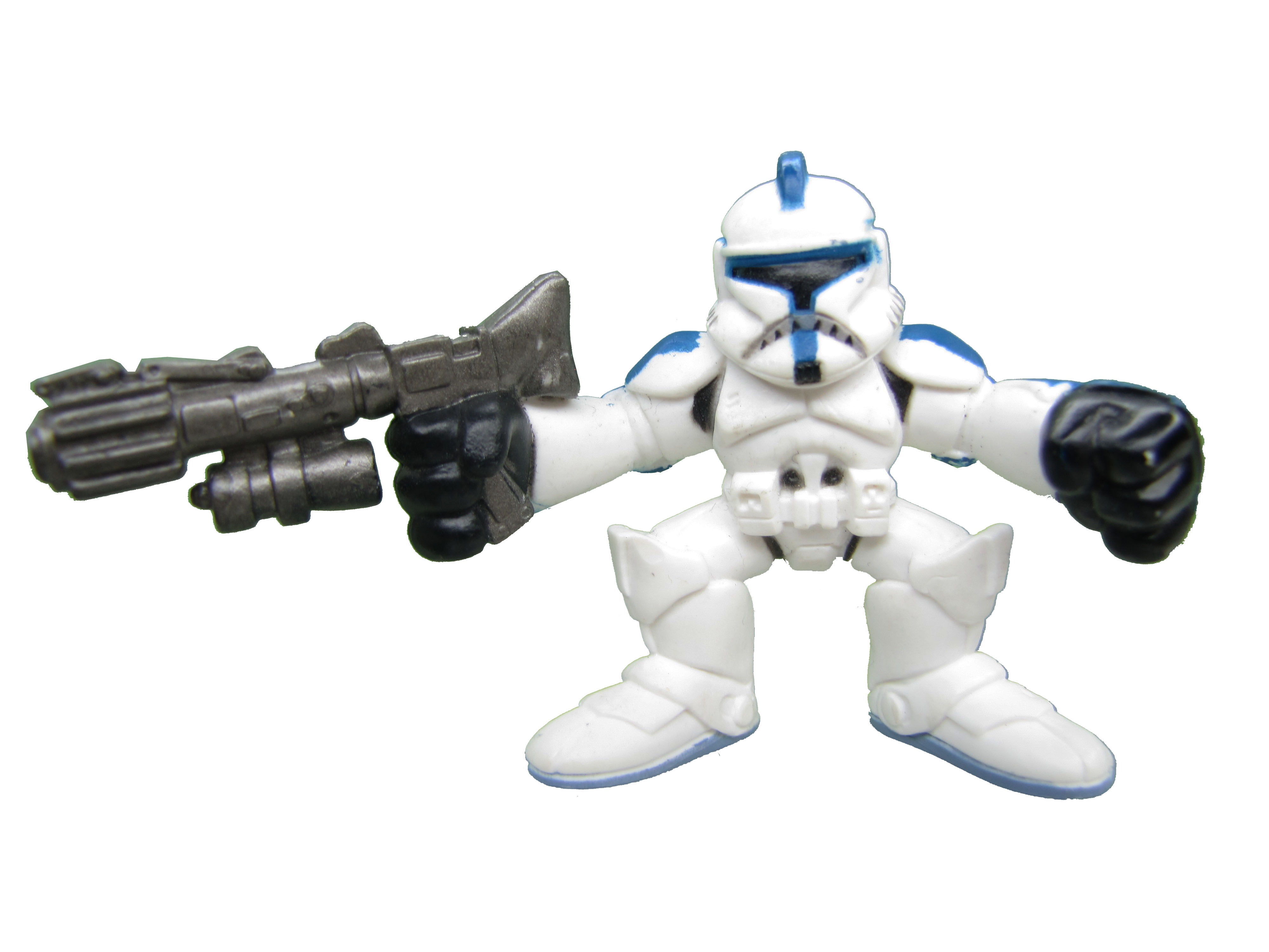 Star Wars Galactic Heroes Clone Trooper Blue Complete