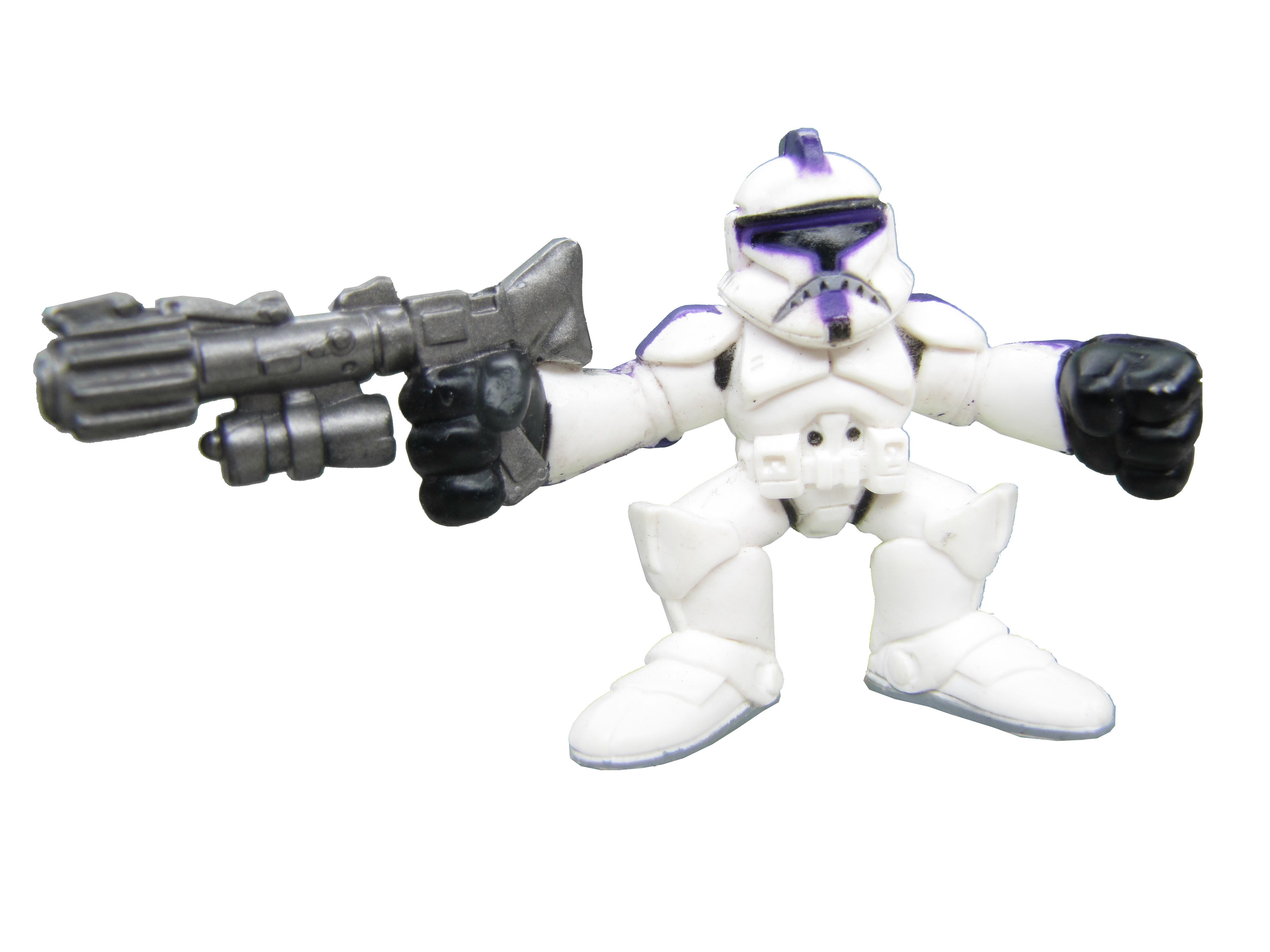 Star Wars Galactic Heroes Clone Trooper Purple Complete