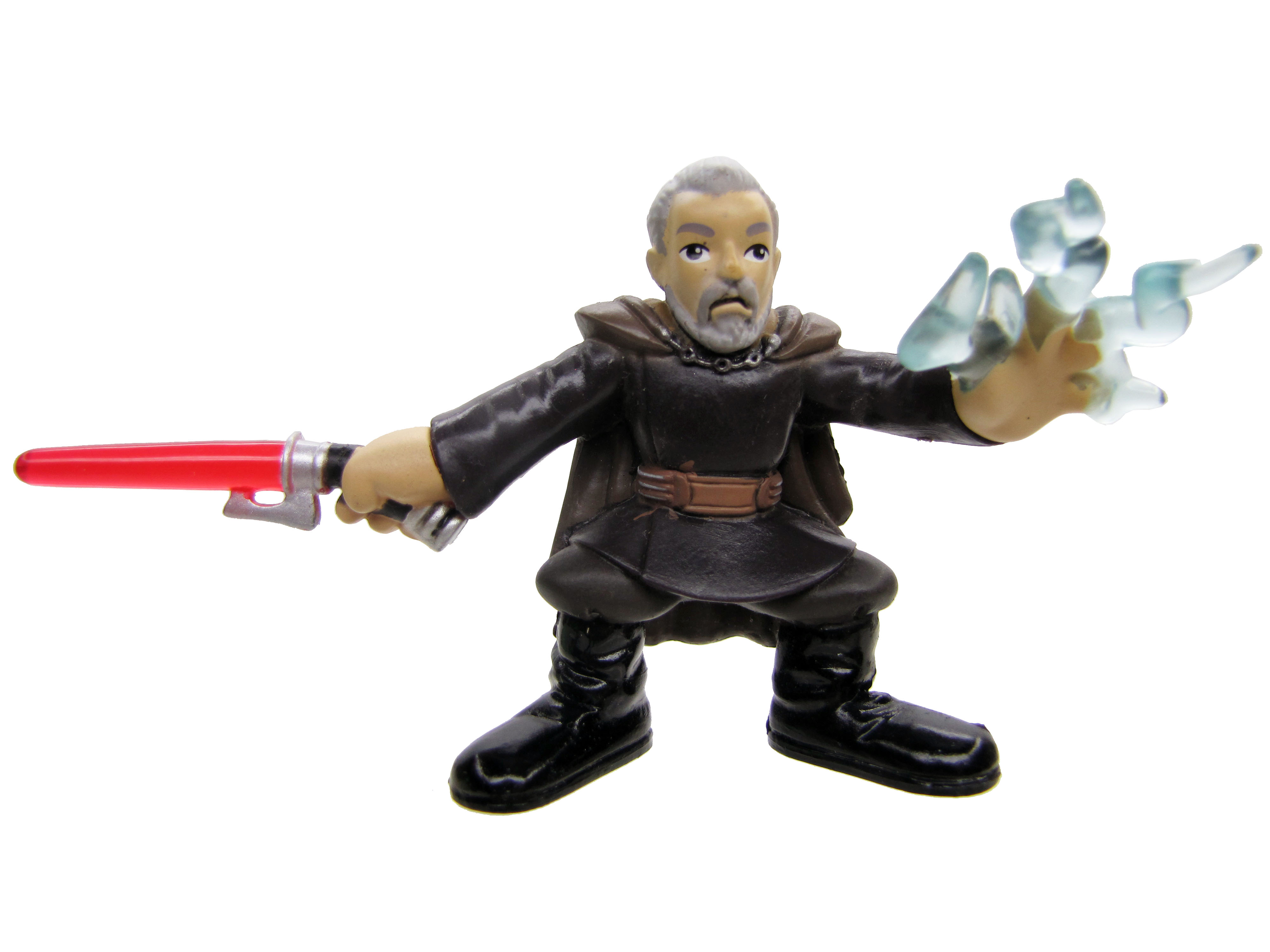 Star Wars Galactic Heroes COUNT DOOKU FORCE LIGHTNING Complete