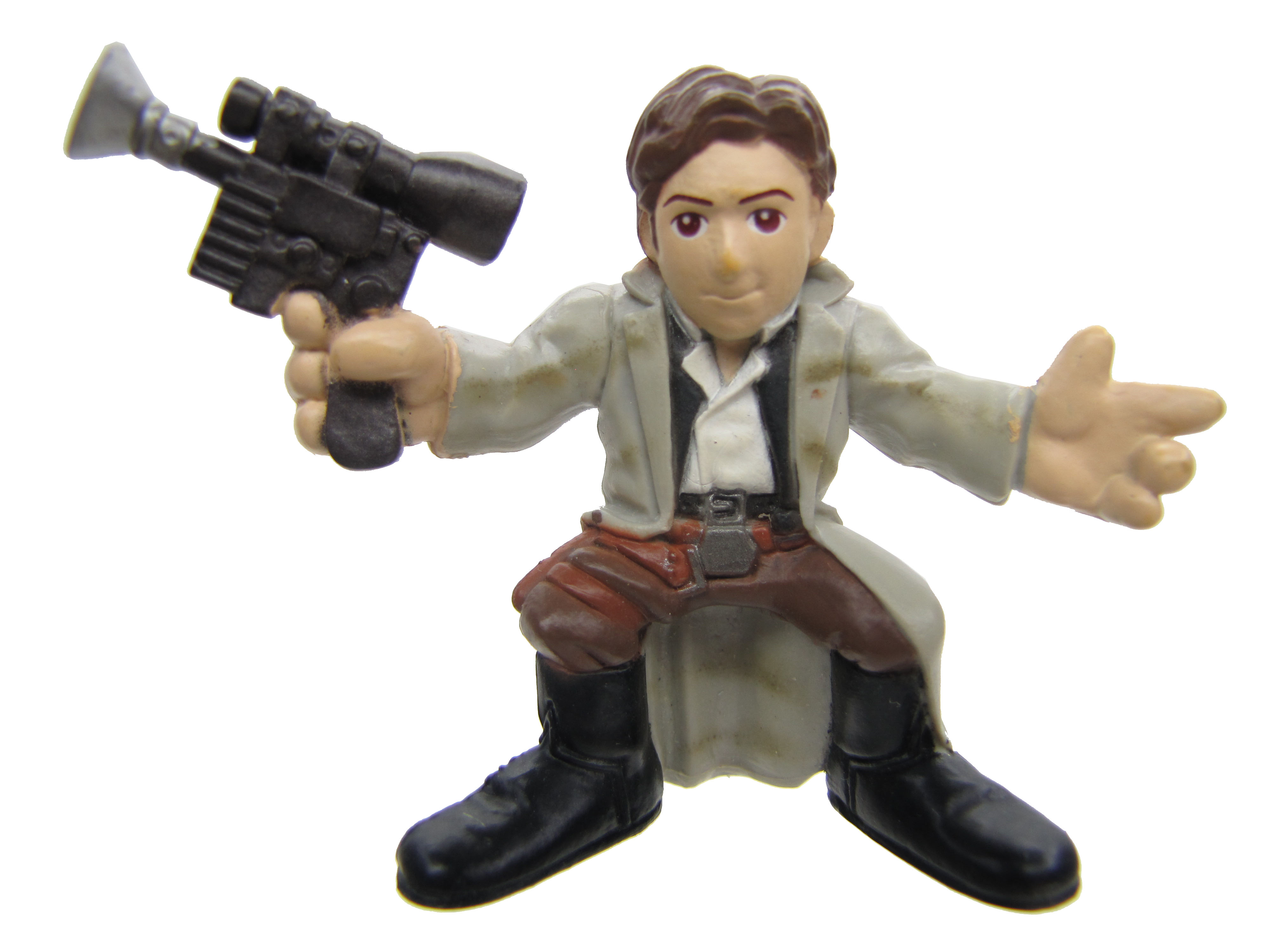 Star Wars Galactic Heroes Han Solo Battle of Endor Complete
