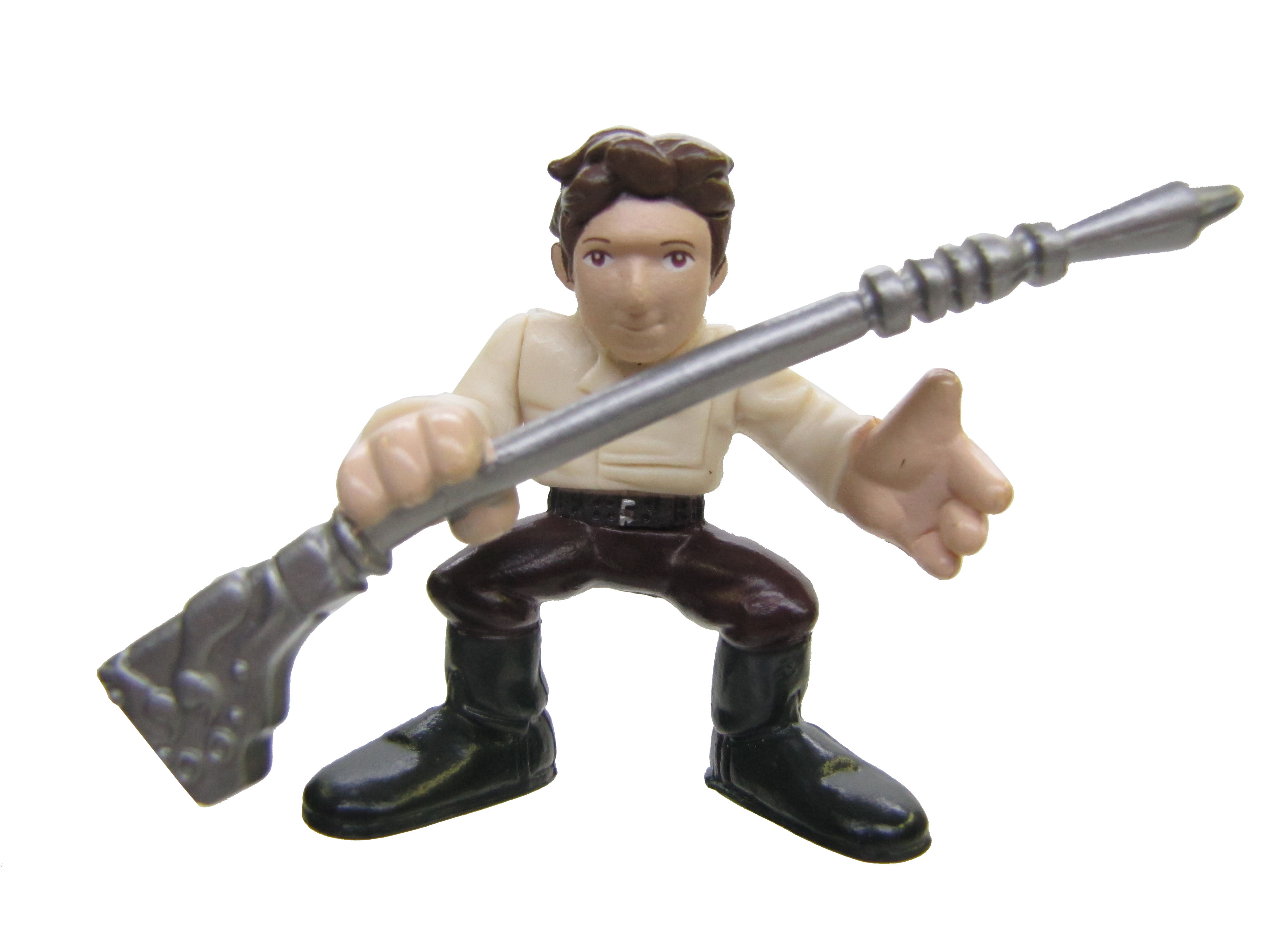 Star Wars Galactic Heroes JABBA'S SKIFF PIT OF CARKOON HAN SOLO