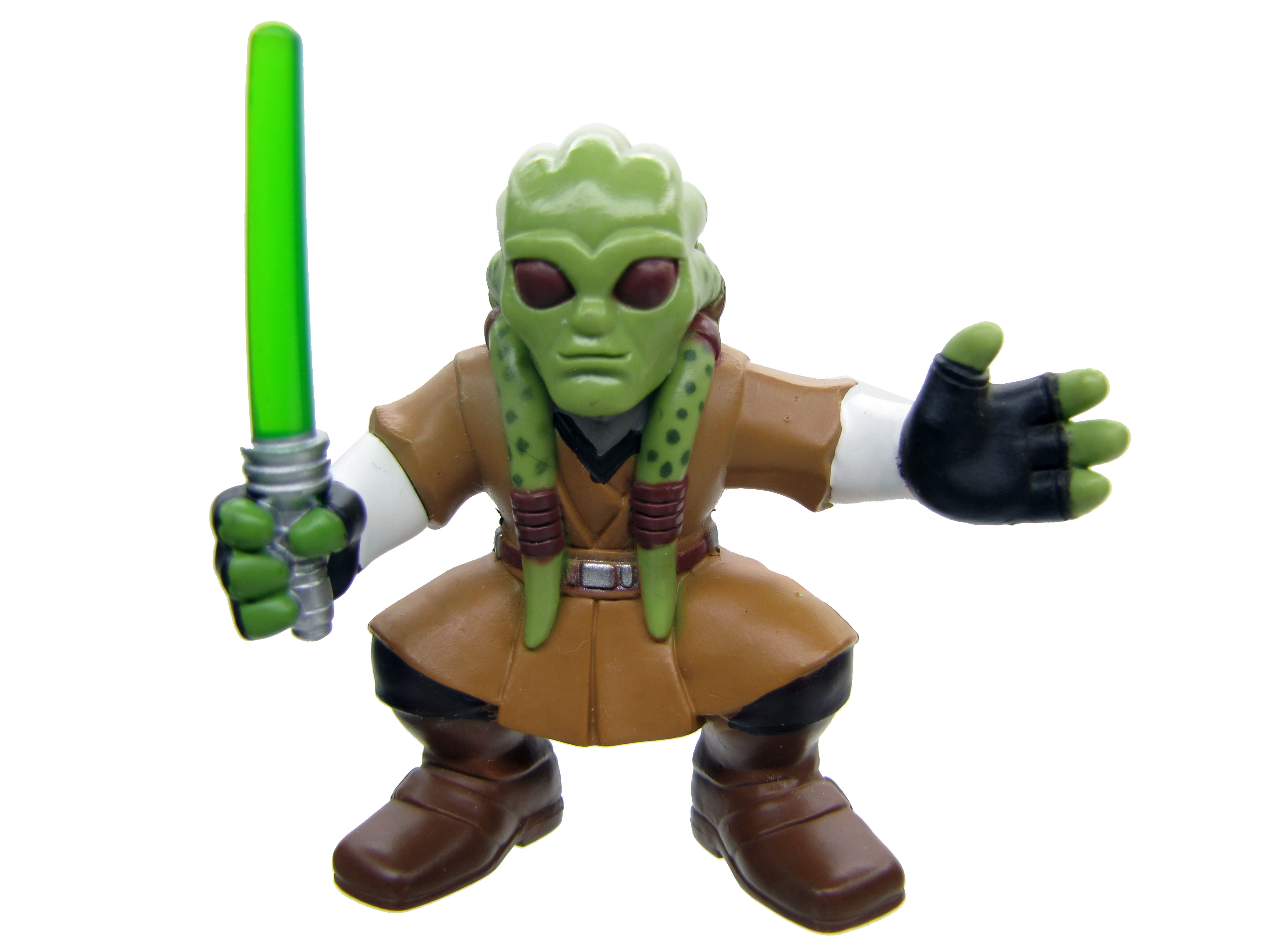Star Wars Galactic Heroes KIT FISTO REVENGE OF THE SITH Complete
