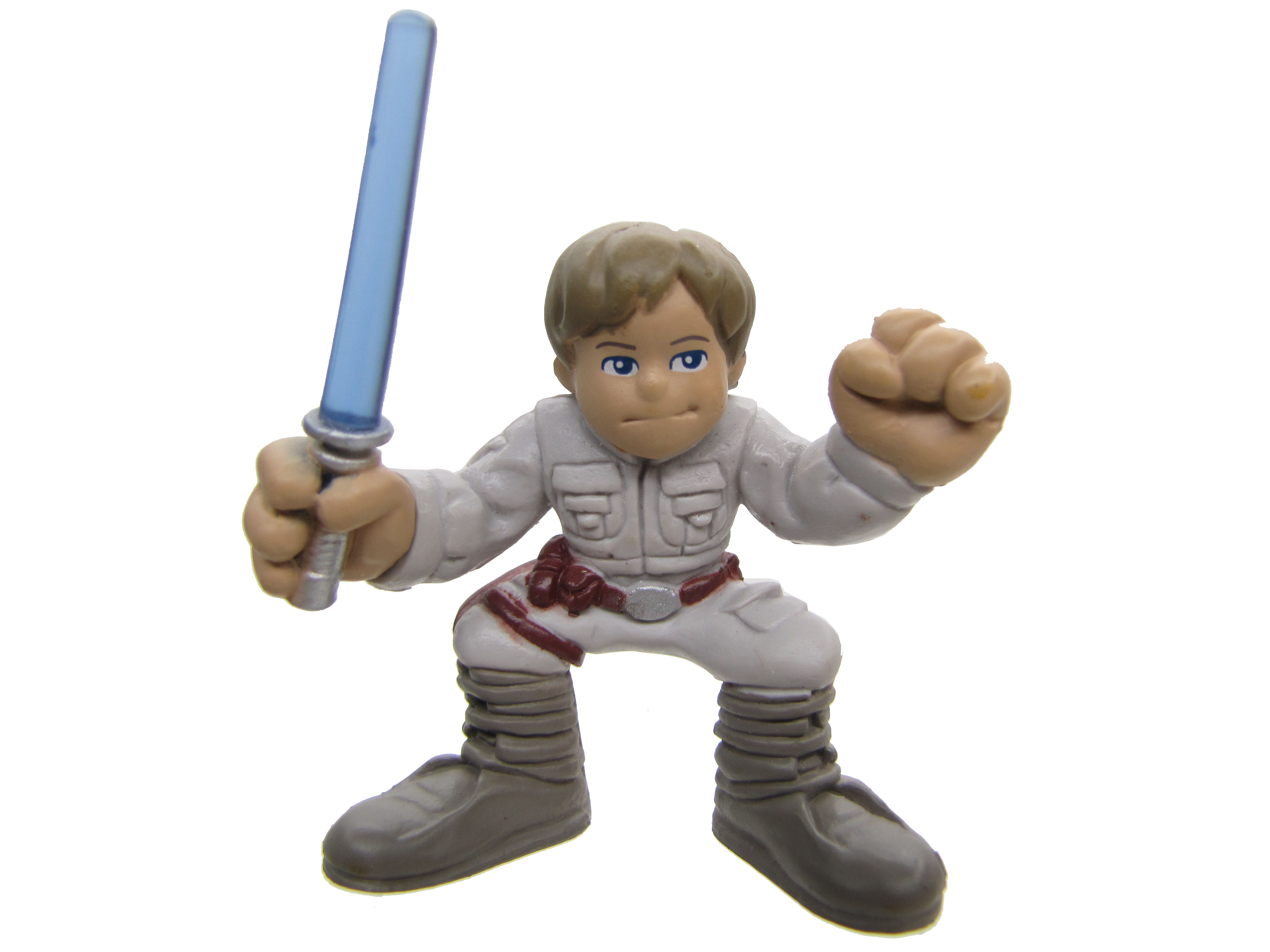 Star Wars Galactic Heroes Luke Skywalker Clear Lightsaber