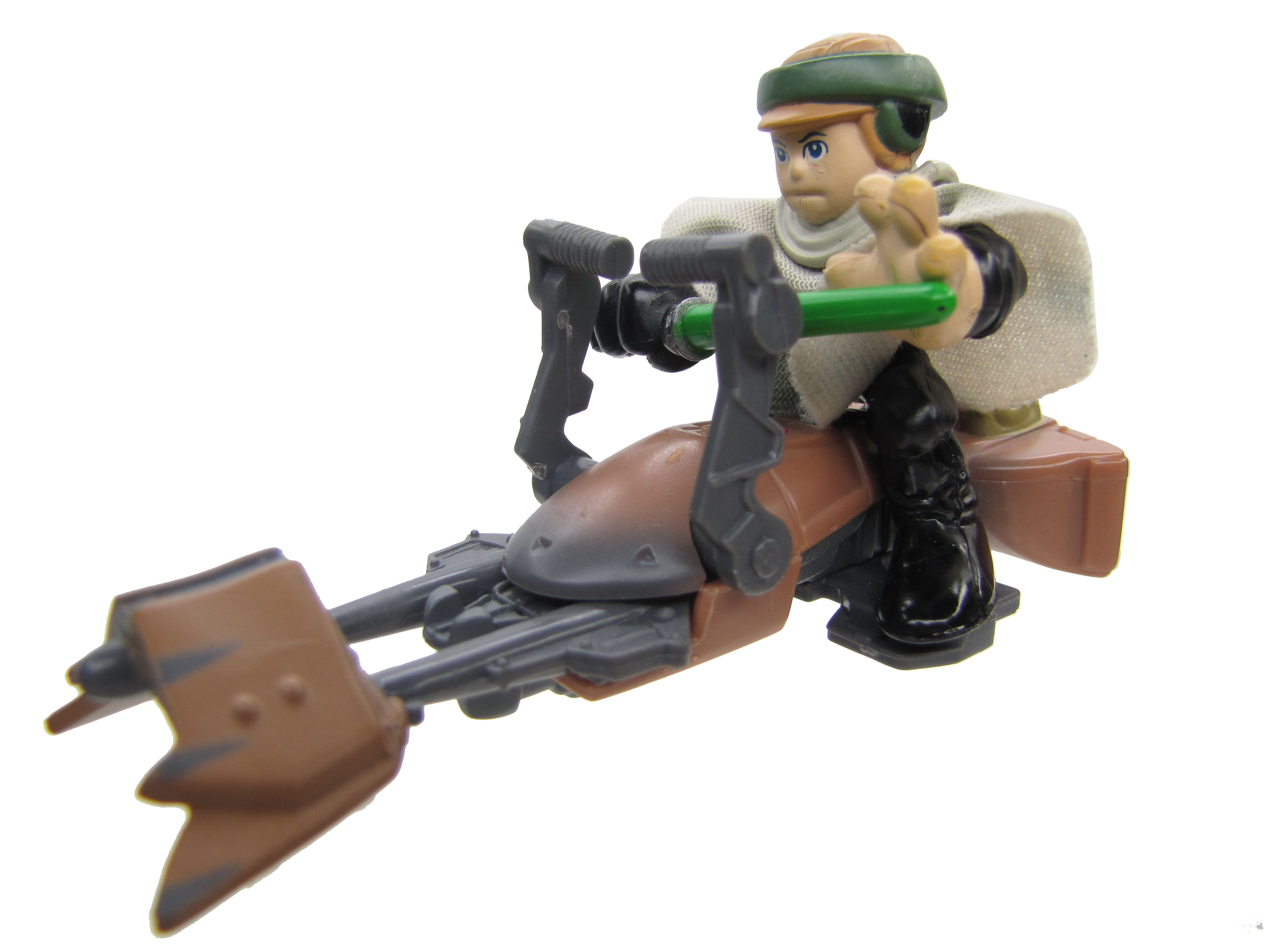 Star Wars Galactic Heroes Luke Skywalker on Speeder Bike