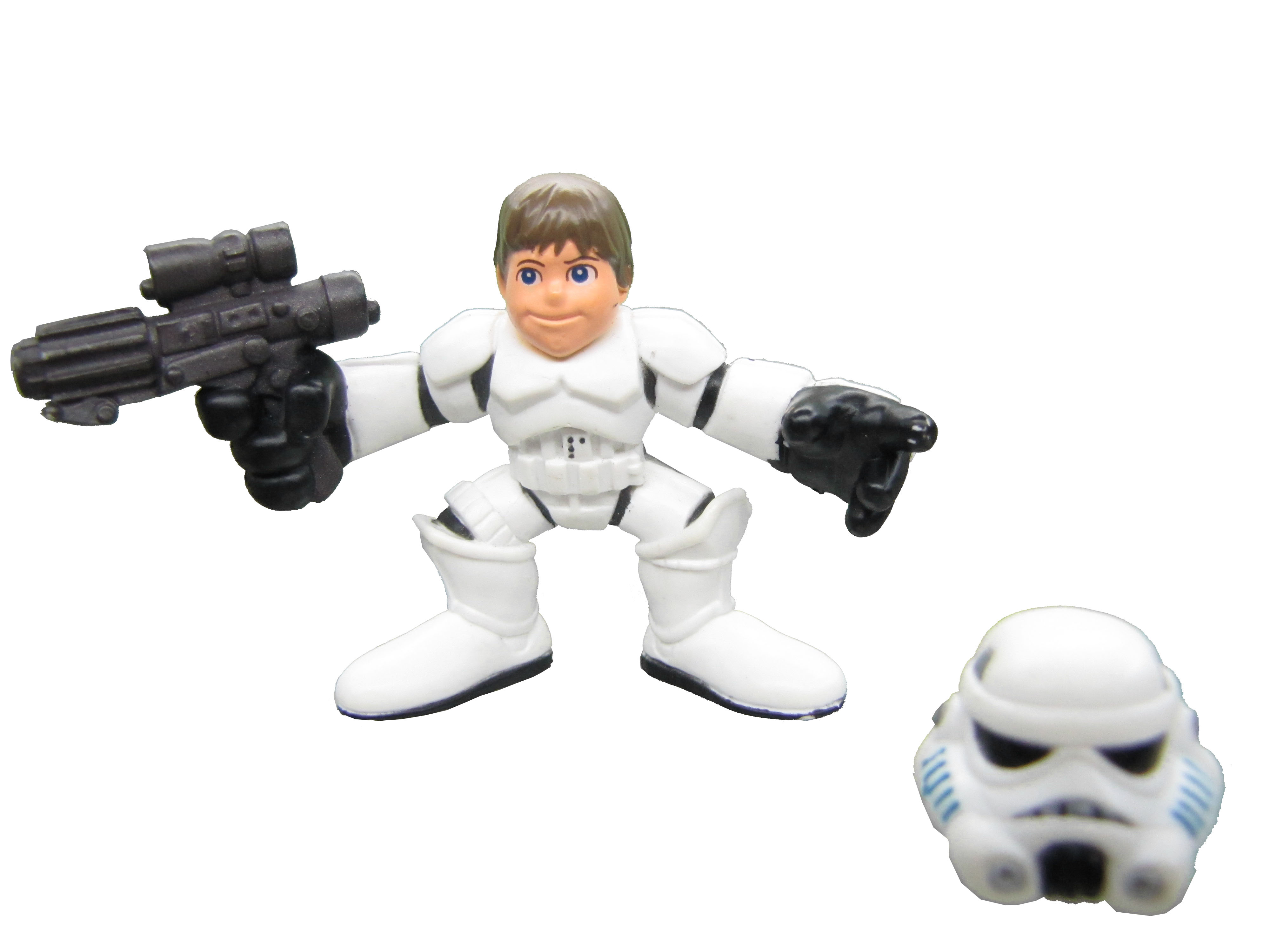 Star Wars Galactic Heroes Luke Skywalker Stormtrooper Desguise