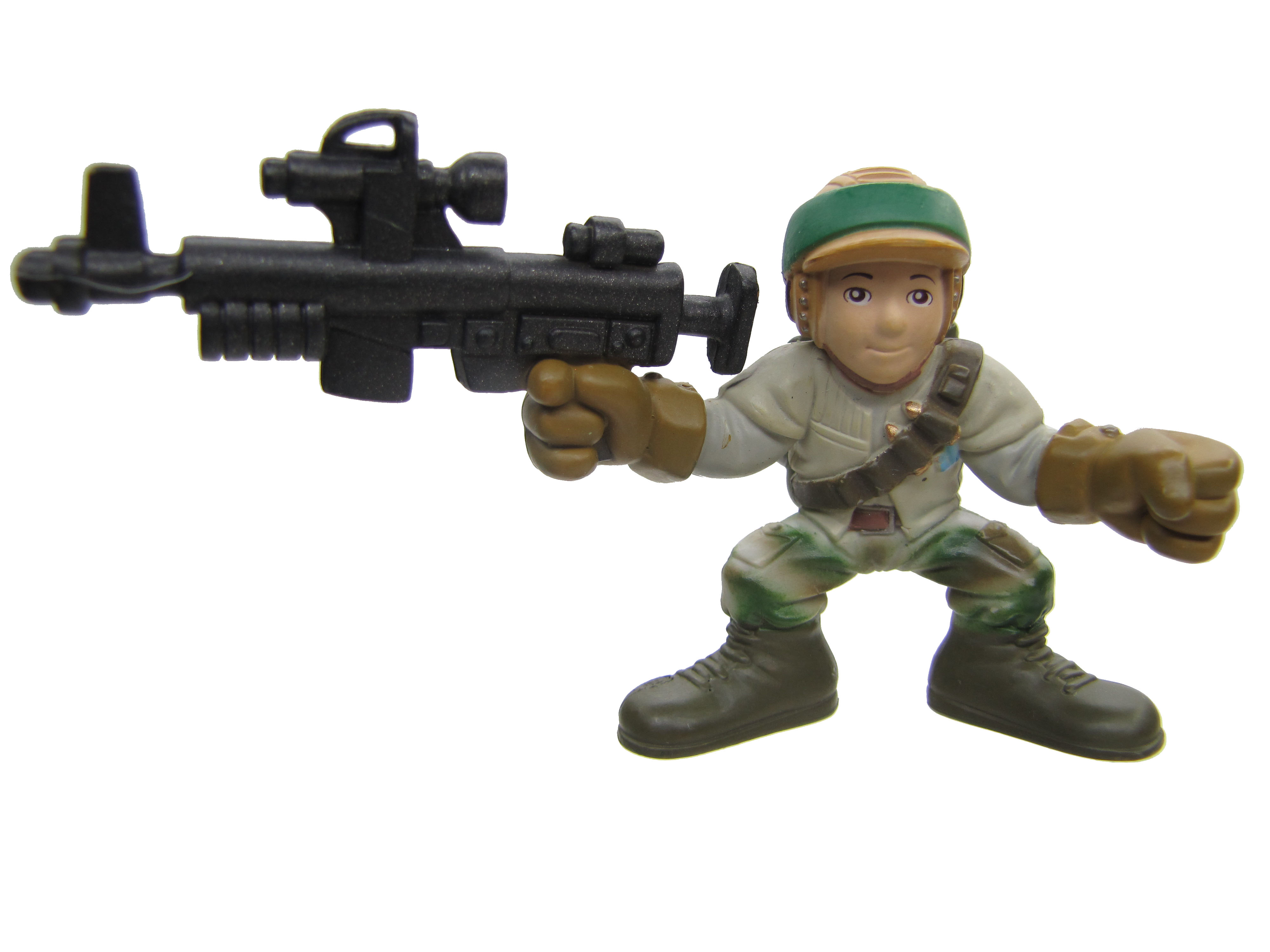 Star Wars Galactic Heroes REBEL COMMANDO Complete