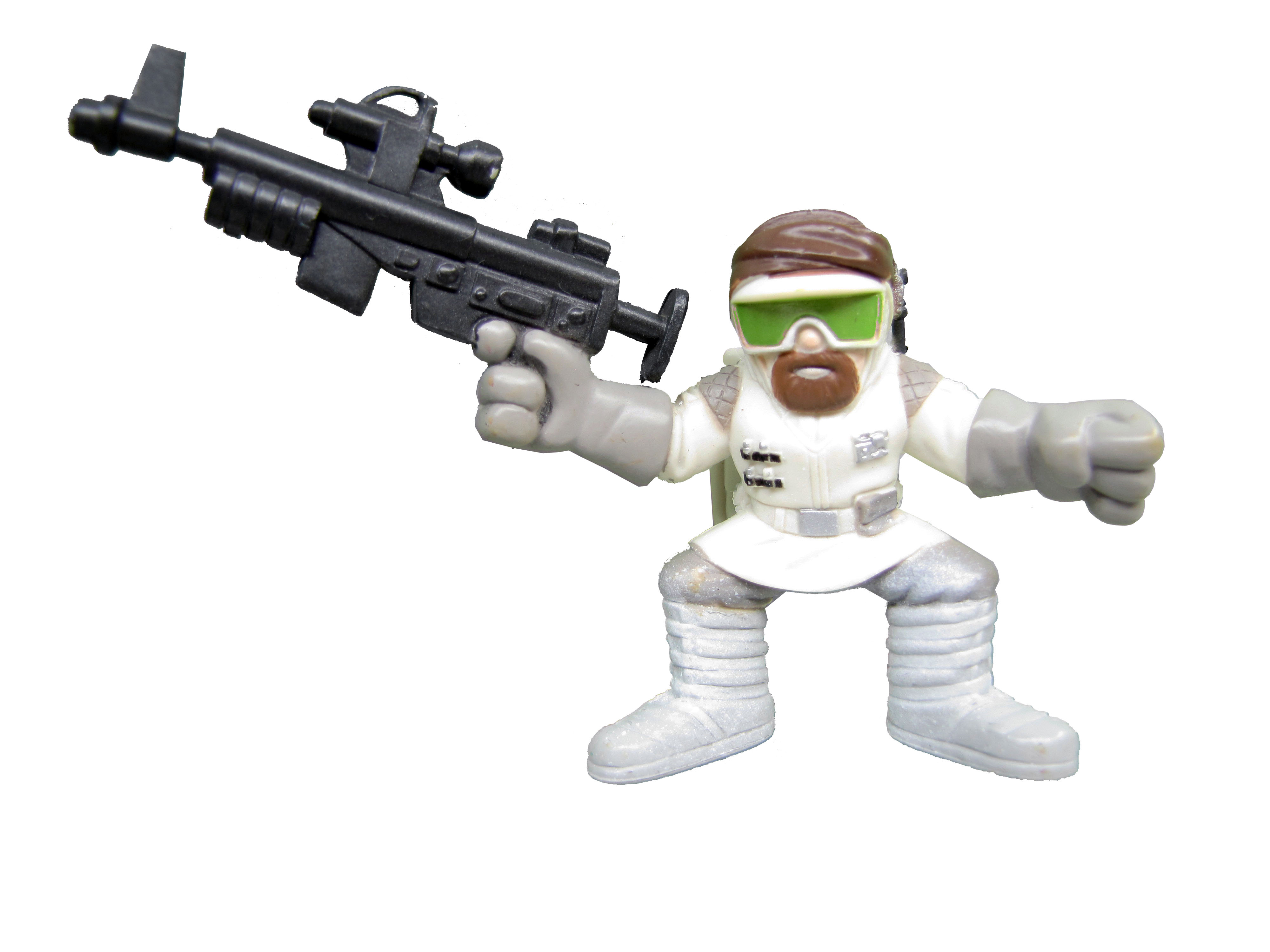 Star Wars Galactic Heroes BATTLE OF HOTH REBEL TROOPER Complete