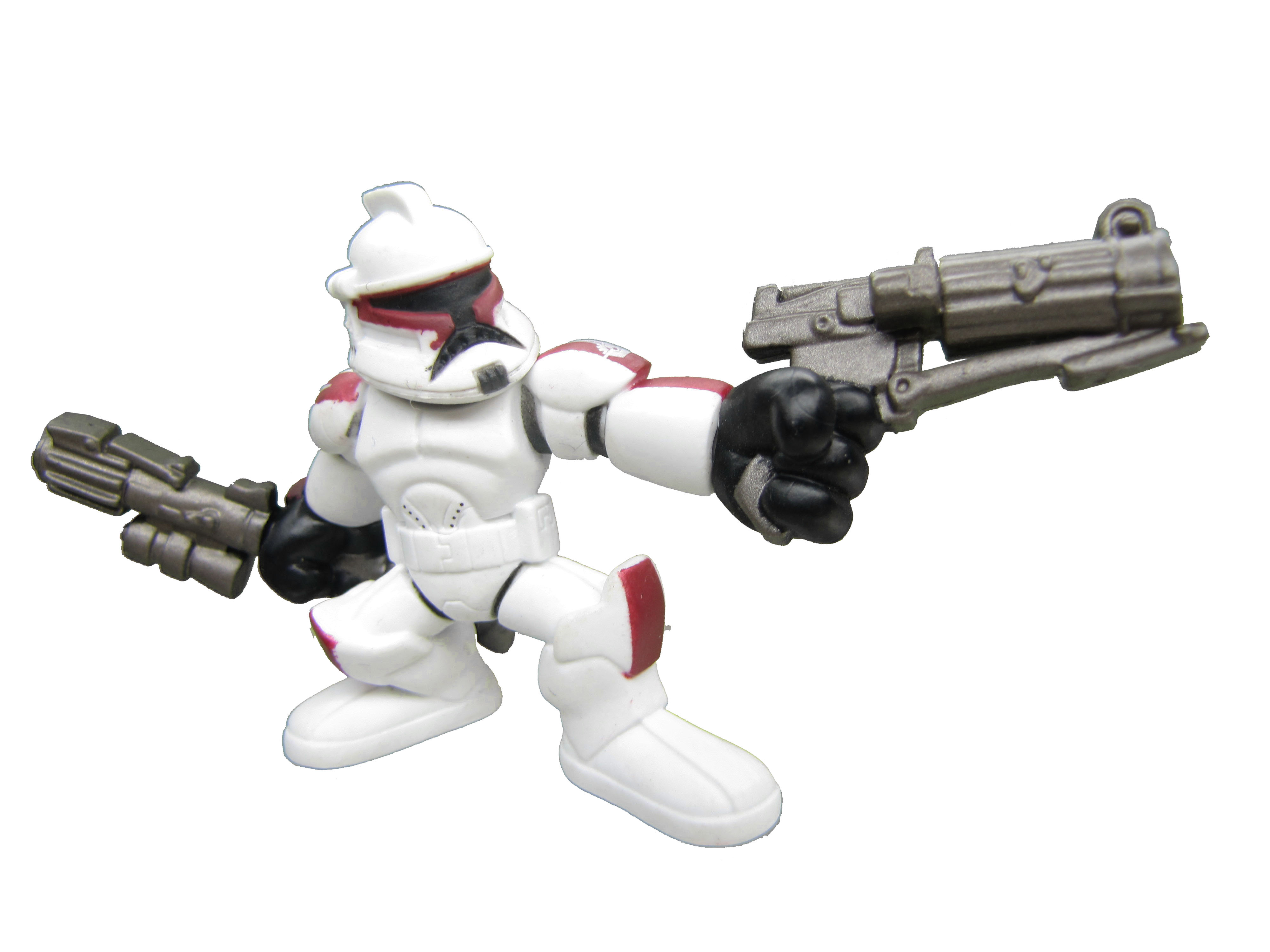 Star Wars Galactic Heroes SENATE SECURITY CLONE TROOPER Complete