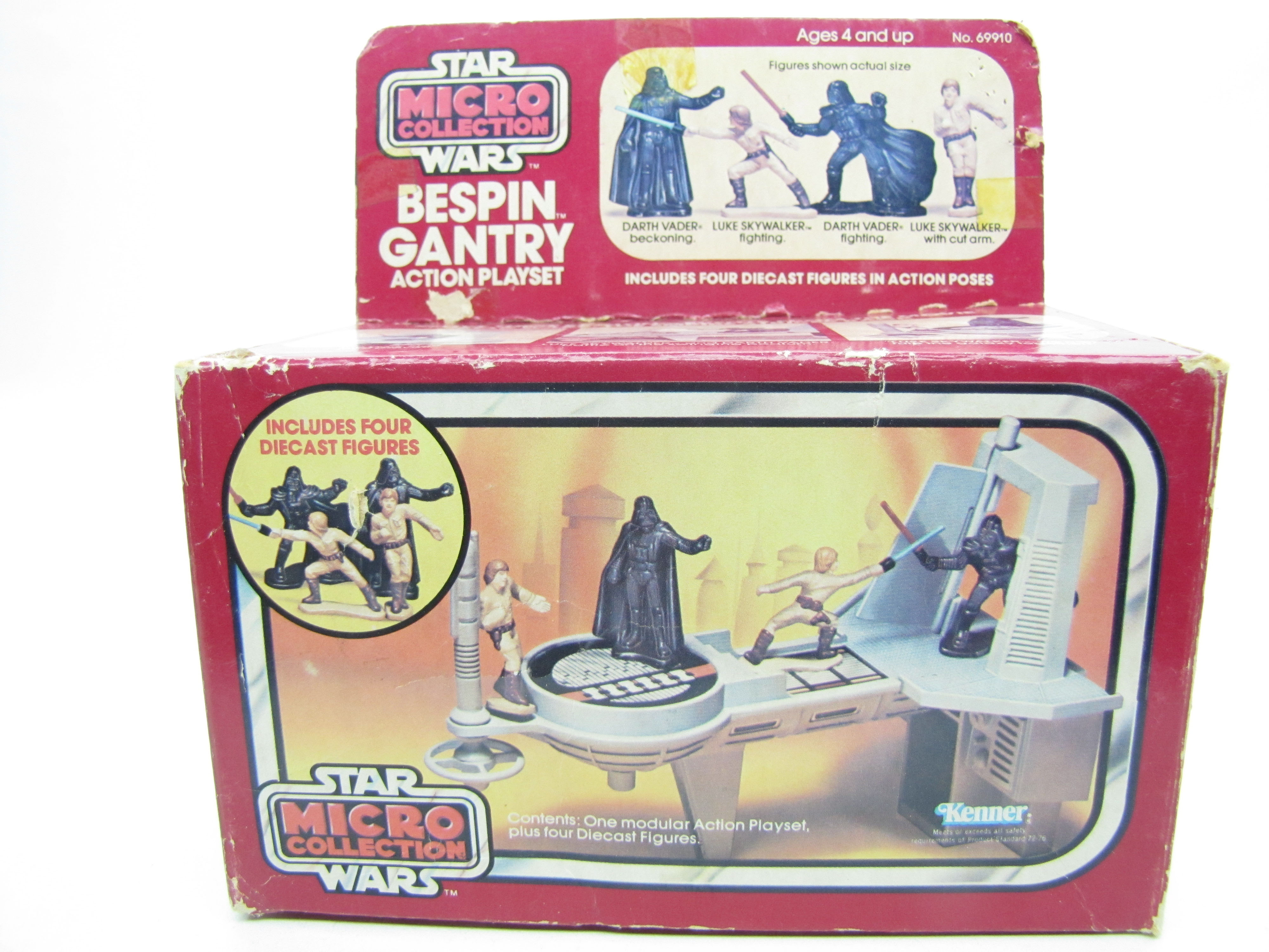 1982 Star Wars Micro Collection BESPIN GANTRY Sealed Mint in Box