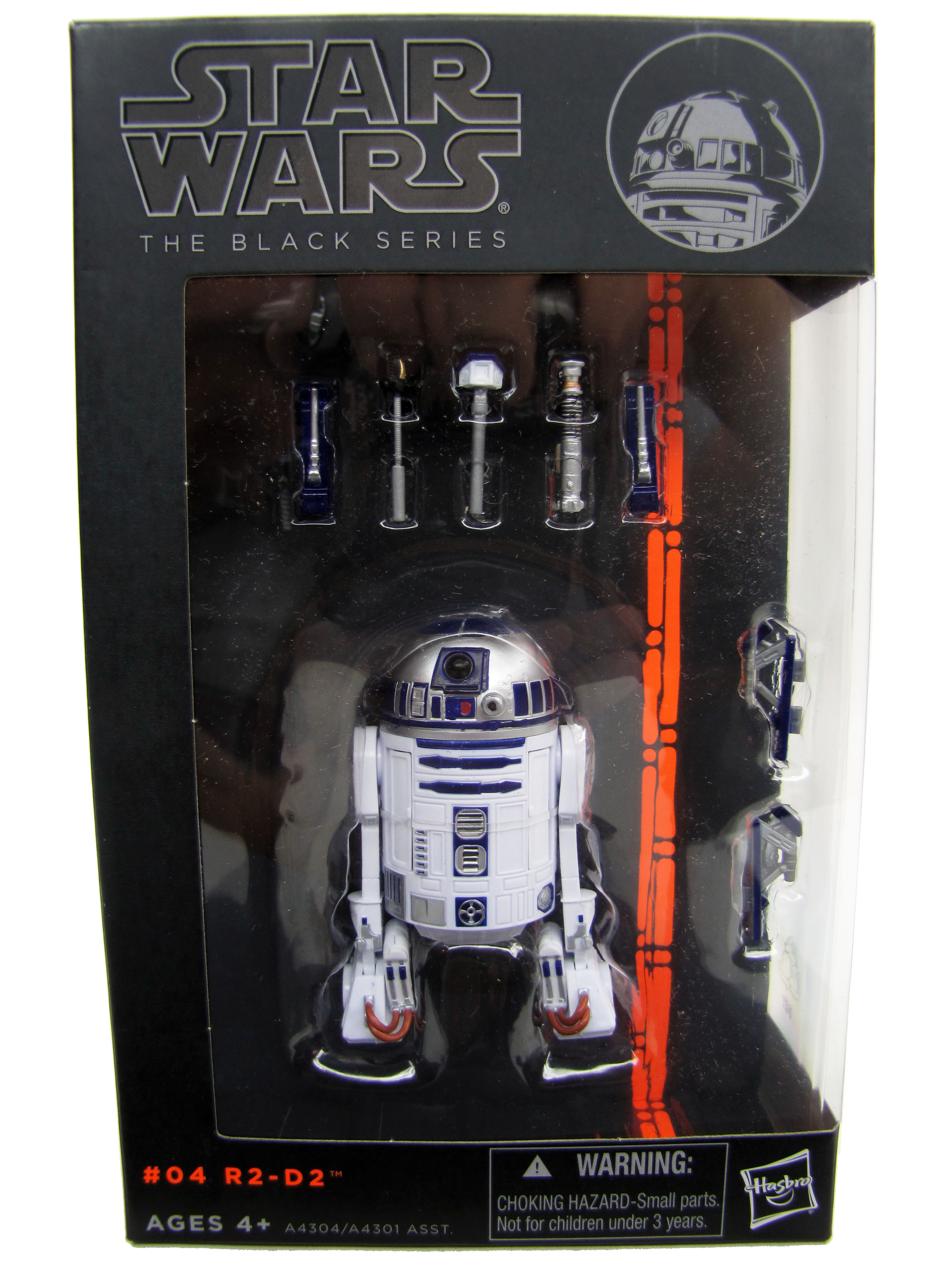 "2013 Star Wars Black Series 6"" #04 R2-D2 Sealed NEW"
