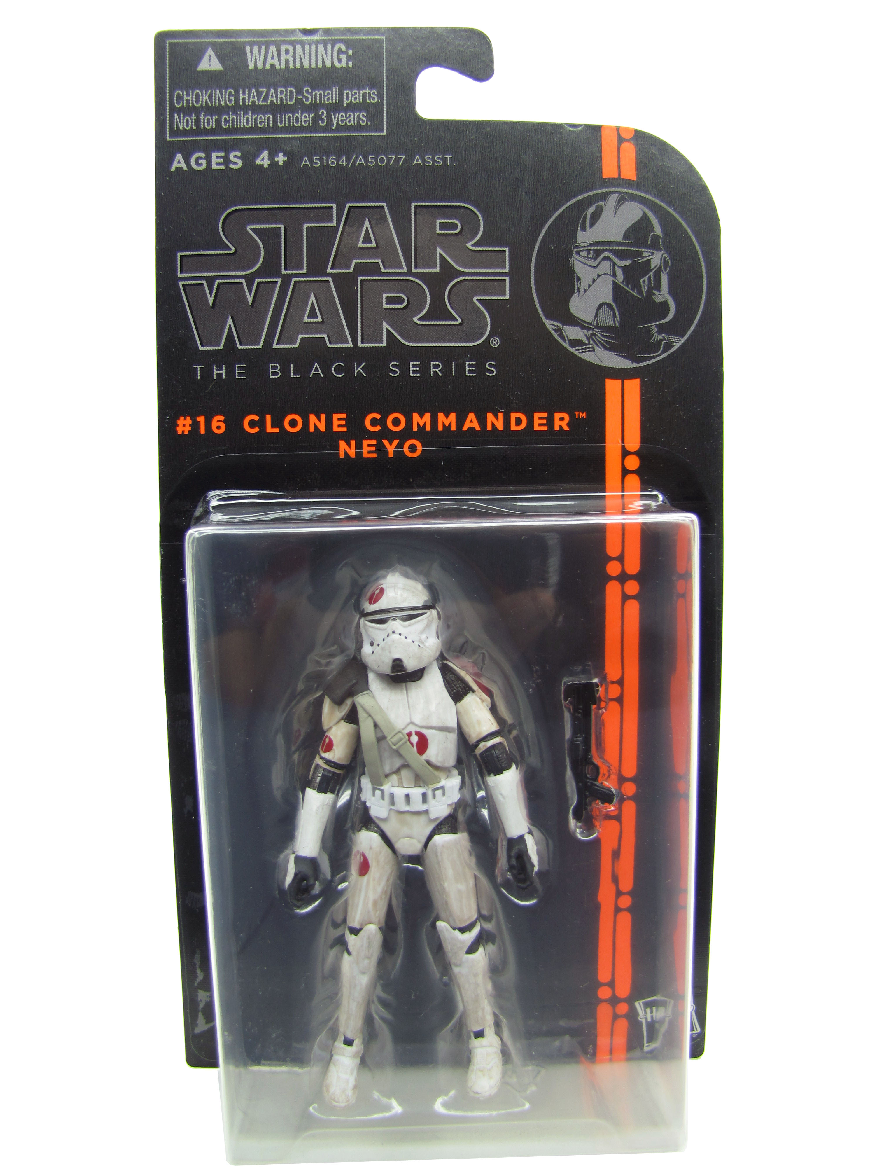 2013 The Black Series #16: Clone Commander Neyo Sealed MOC