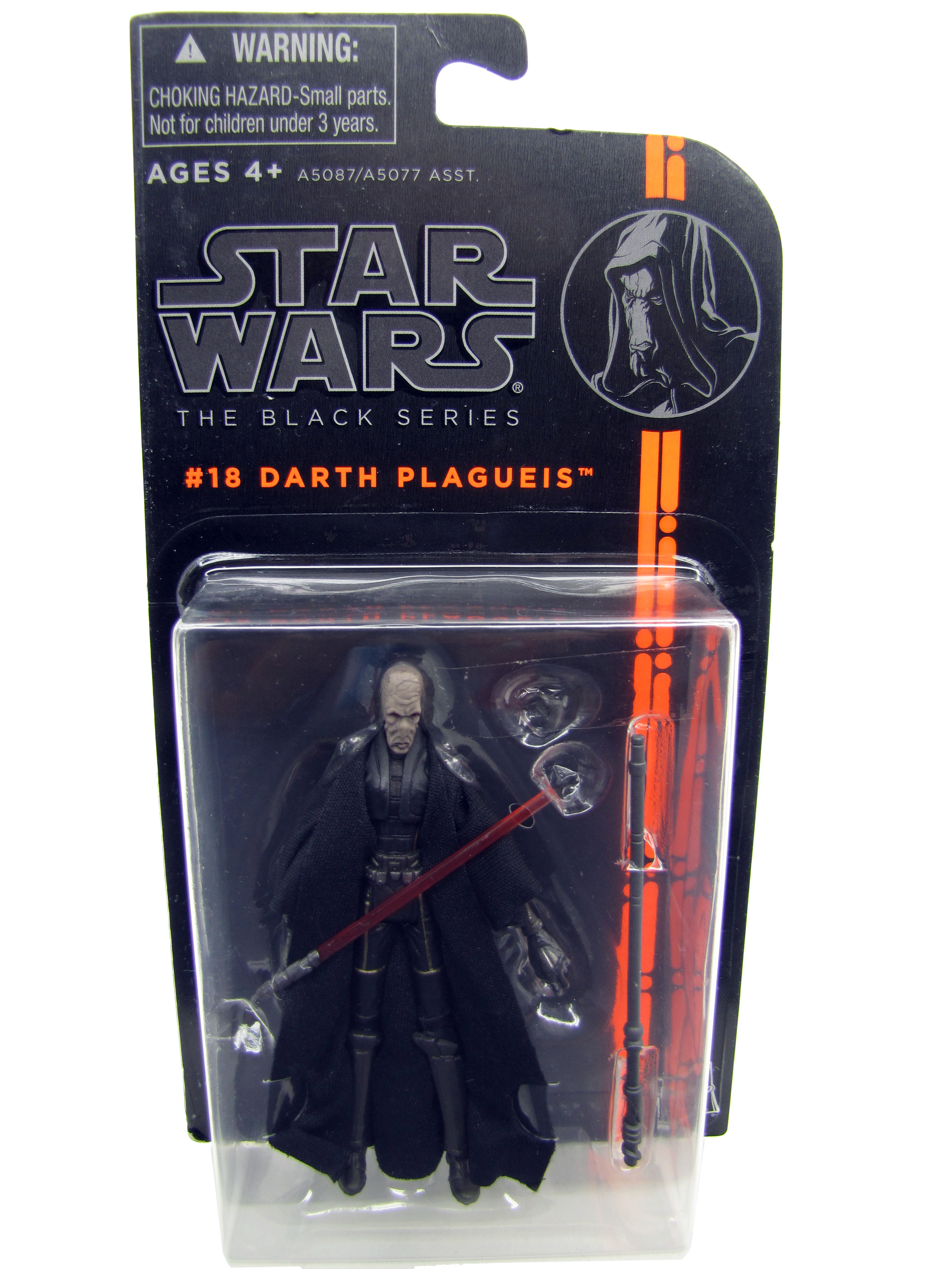 2013 Star Wars The Black Series #18: DARTH PLAGUEIS Sealed MOC