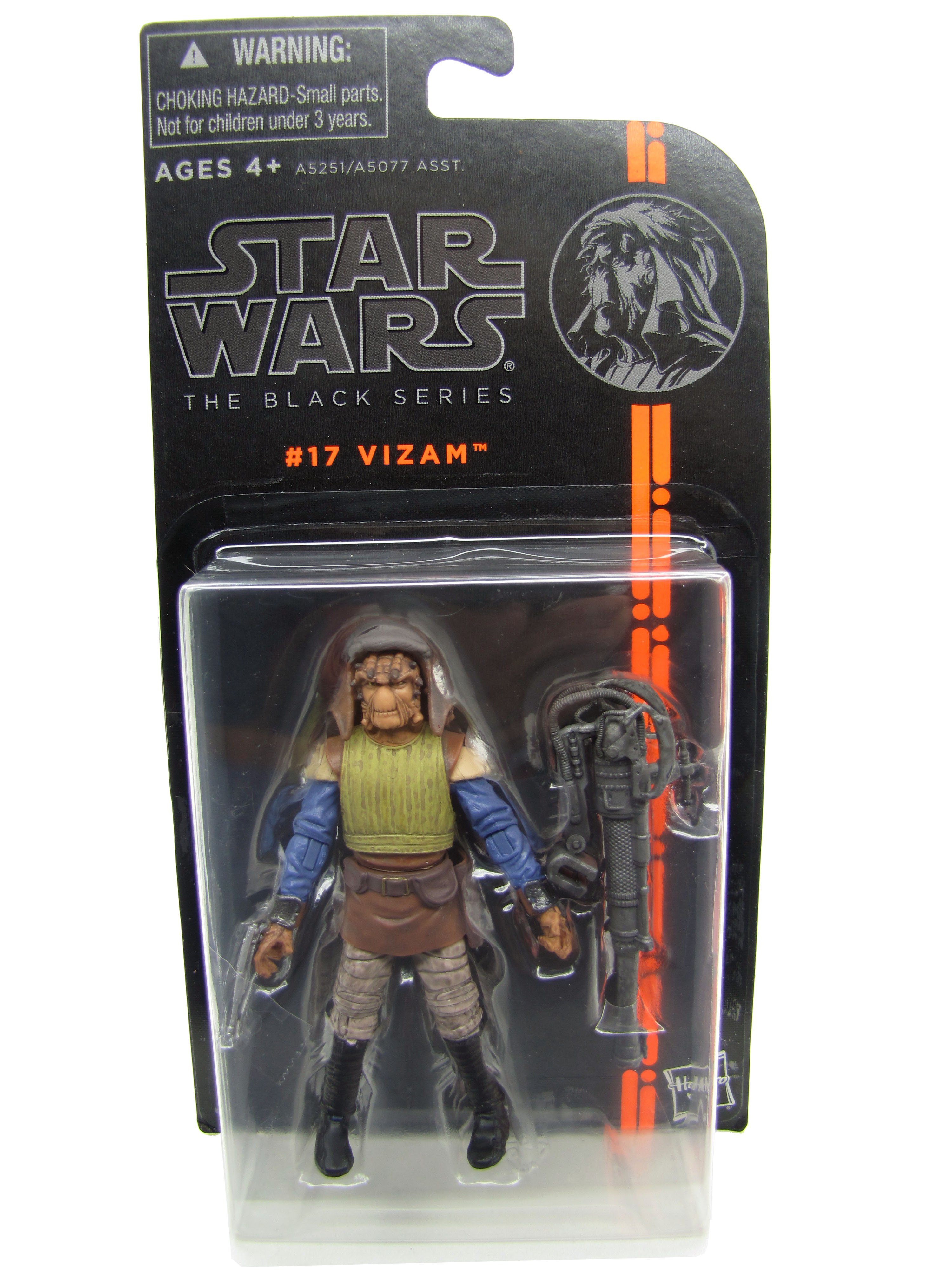 2013 The Black Series #17: Vizam Sealed Mint on Card