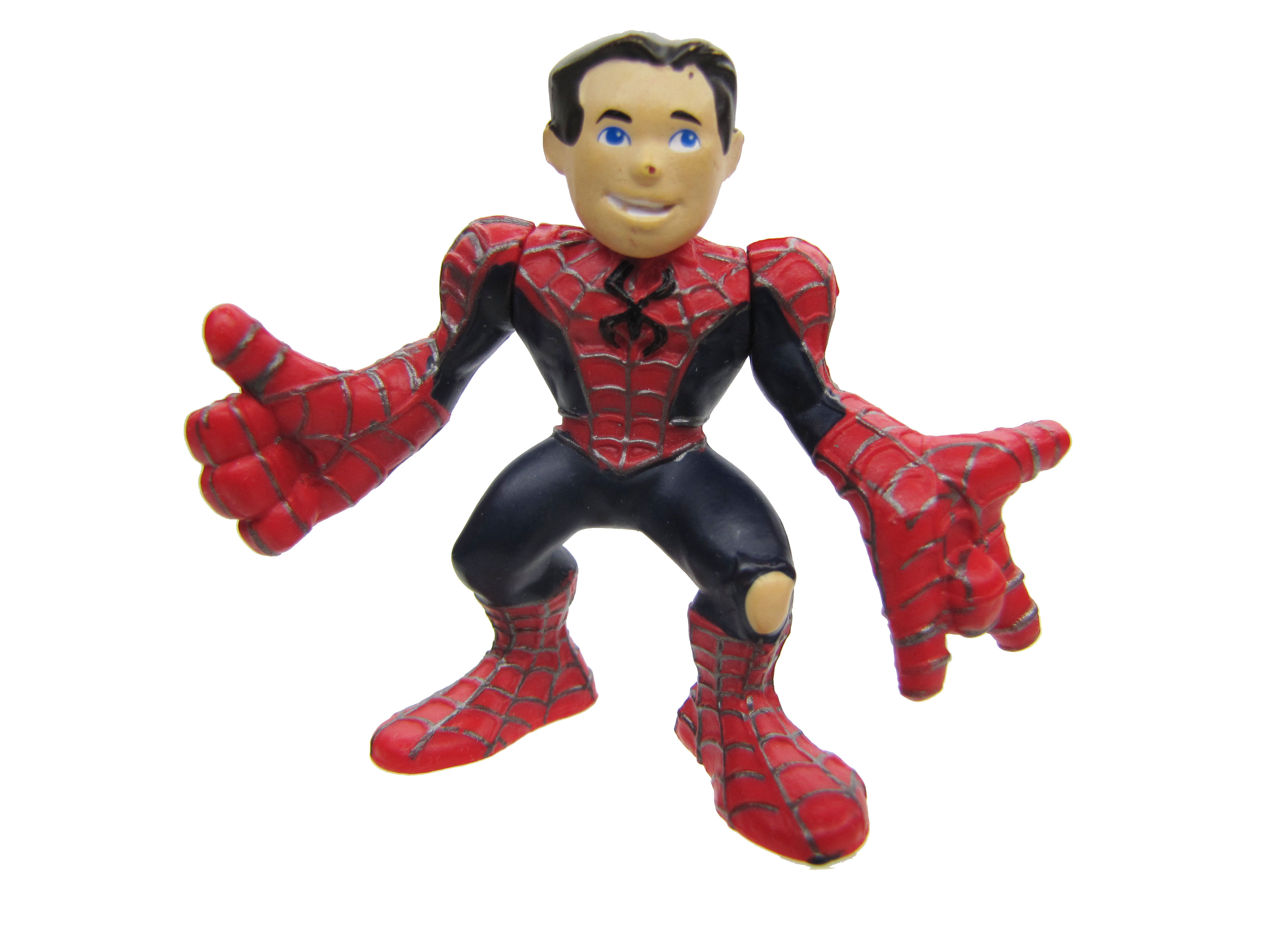 Marvel Super Hero Squad Spider-Man Unmasked Complete