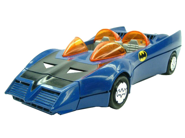 DC Super Powers Batmobile Complete