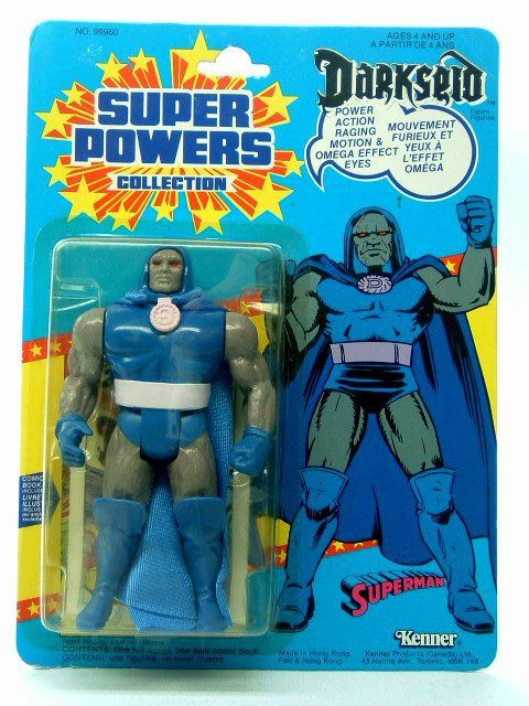 DC Super Powers Darkseid Sealed Mint on Card