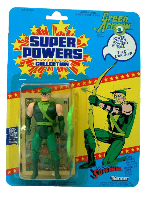 DC Super Powers Green Arrow Sealed Mint on Card